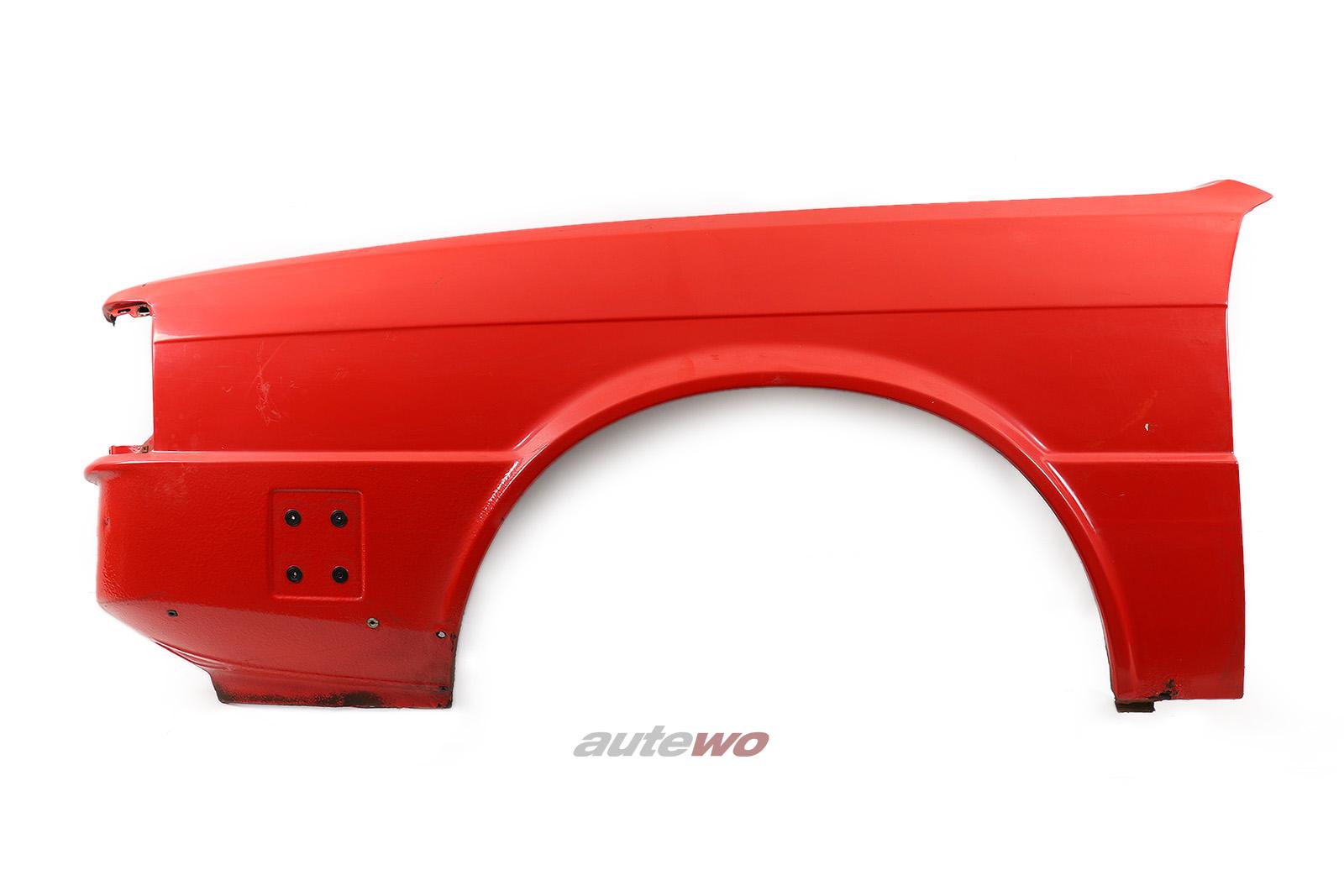811821021L Audi 80/Coupe Typ 81 Kotflügel Vorne Links rot