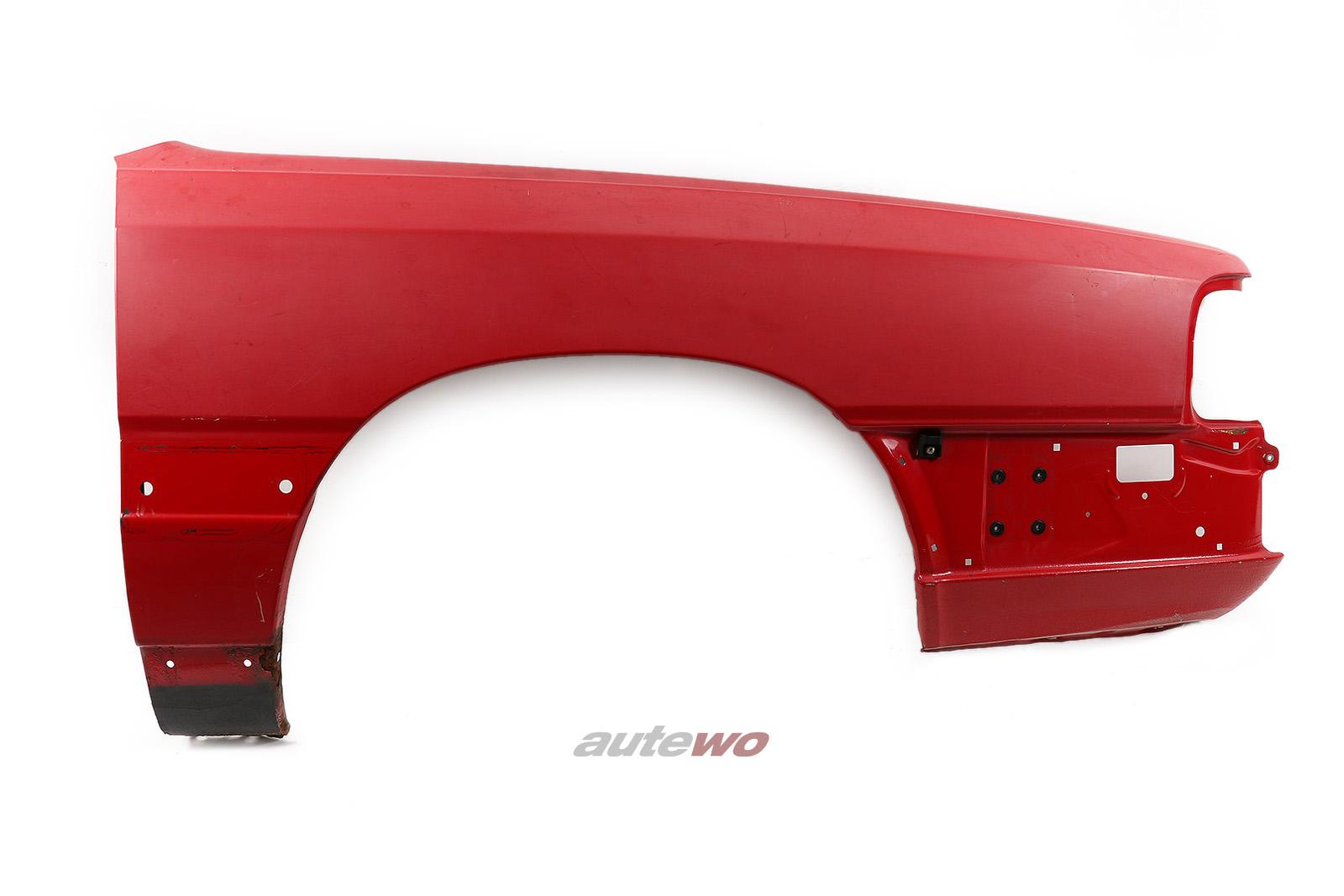 443821106 Audi 100/200 Typ 44 Kotflügel Vorne Rechts rot