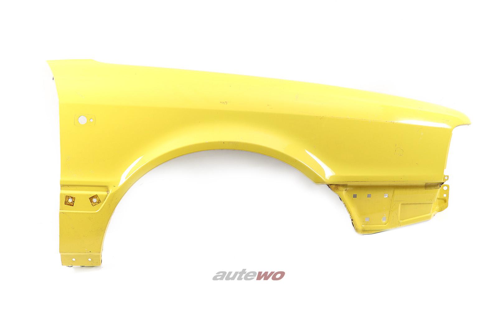 895821106D Audi Coupe/Cabrio Typ 89 Kotflügel Vorne Rechts gelb
