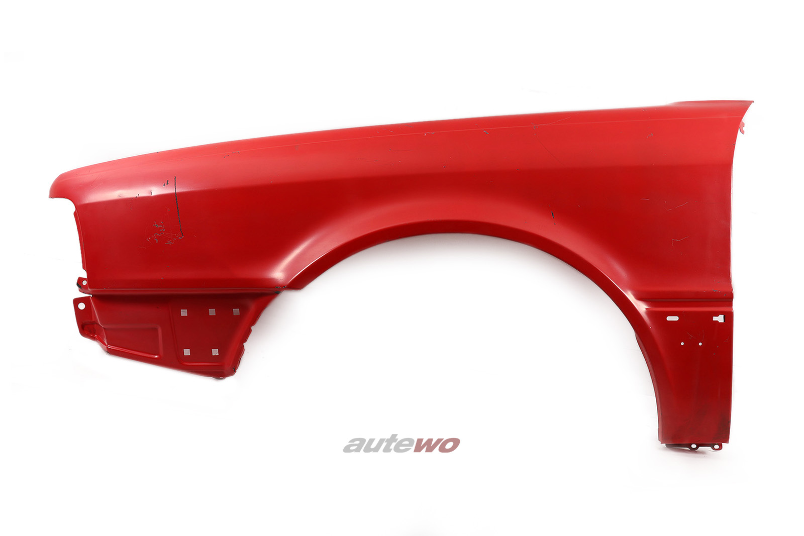 Kotflügel Vorne Links rot für Audi 80 B4 entspricht 8A0821105