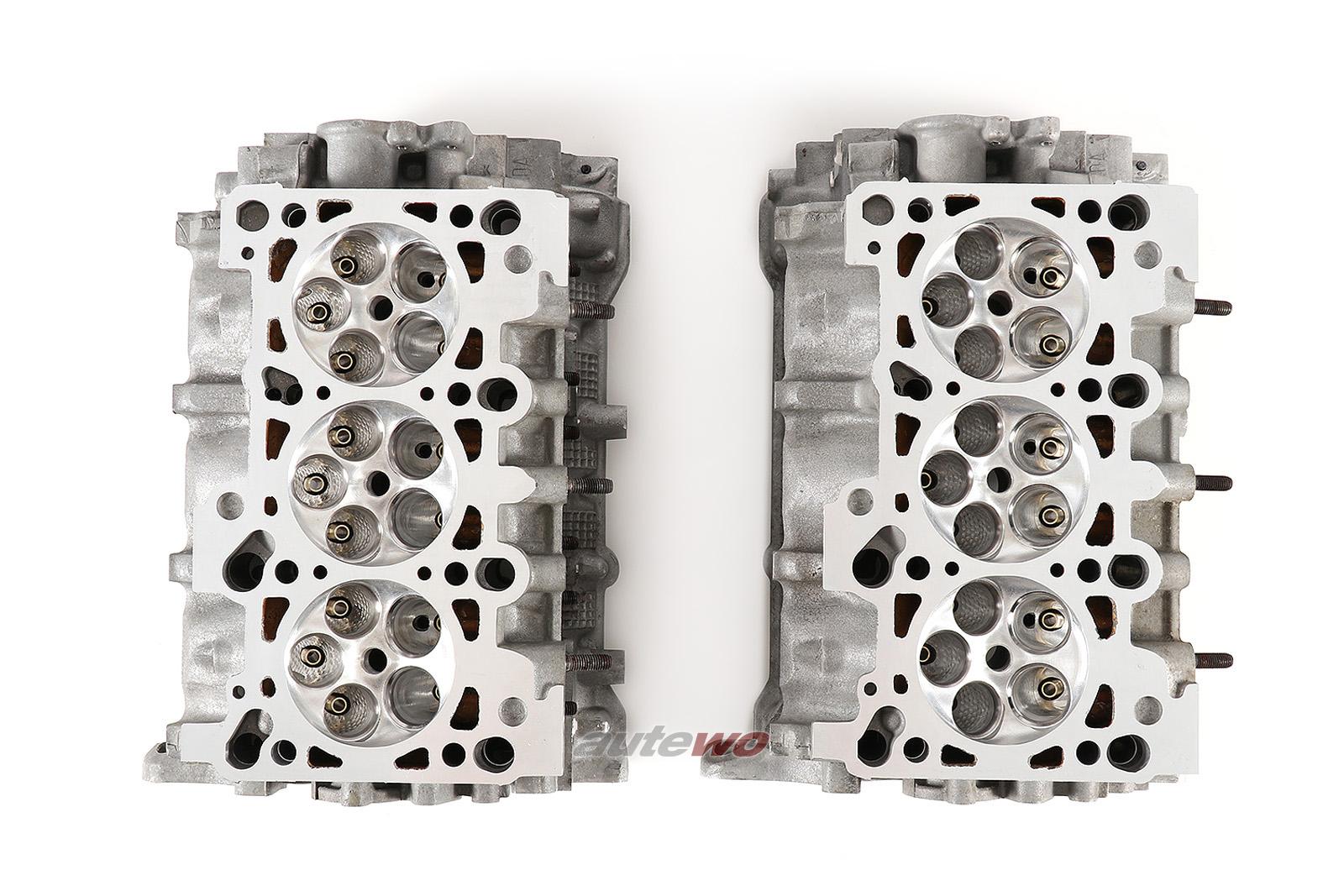 Audi S4/RS4 B5 2.7 Biturbo Zylinderköpfe NG Motorsports CNC ported große Ventile