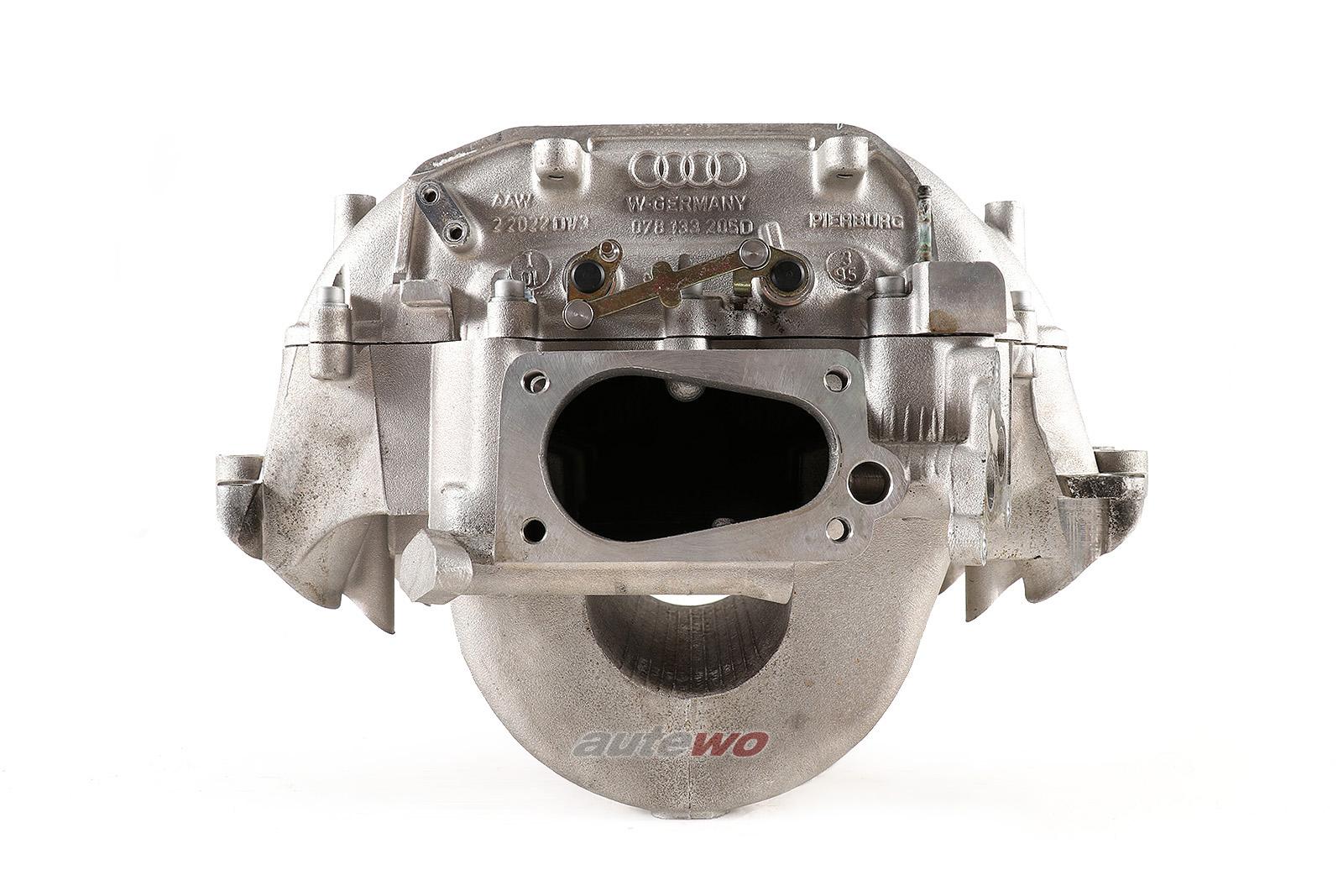 078133205D/078133206H Audi A4 B5/A6 C4/Cabrio Typ 89 2.8l Ansaugbrücke/Saugrohr