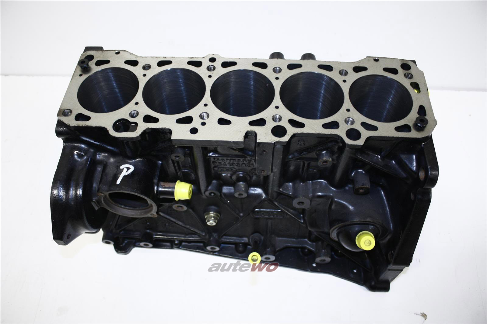 Audi 90/Coupe/100/Passat 2.2l 5 Zyl. KZ/KX/JT Motorblock 10V Bohrung  81,5mm