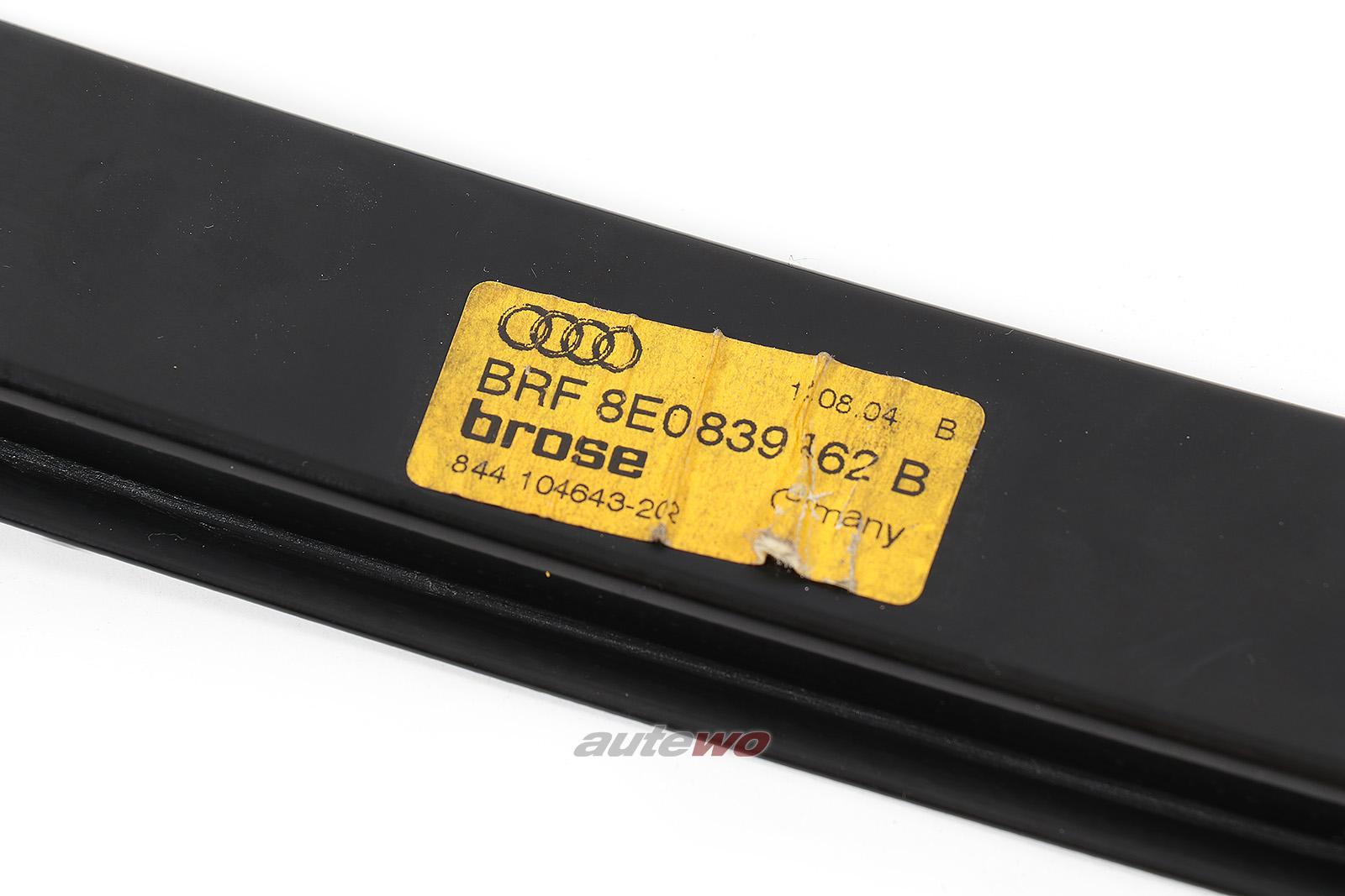 8E0839462C Audi/SEAT A4/S4/RS4 8E/B6/B7/Exeo Fensterheber Hinten Rechts
