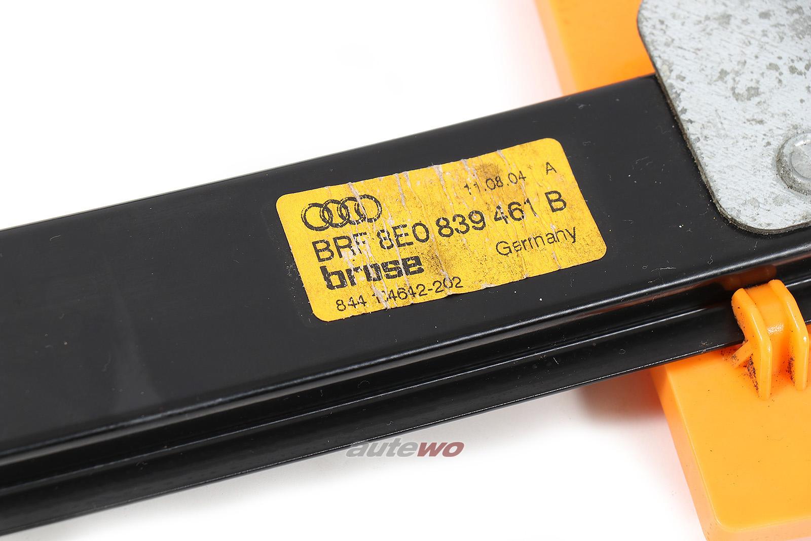 8E0839461C Audi/SEAT A4/S4/RS4 8E/B6/B7/Exeo Fensterheber Hinten Links