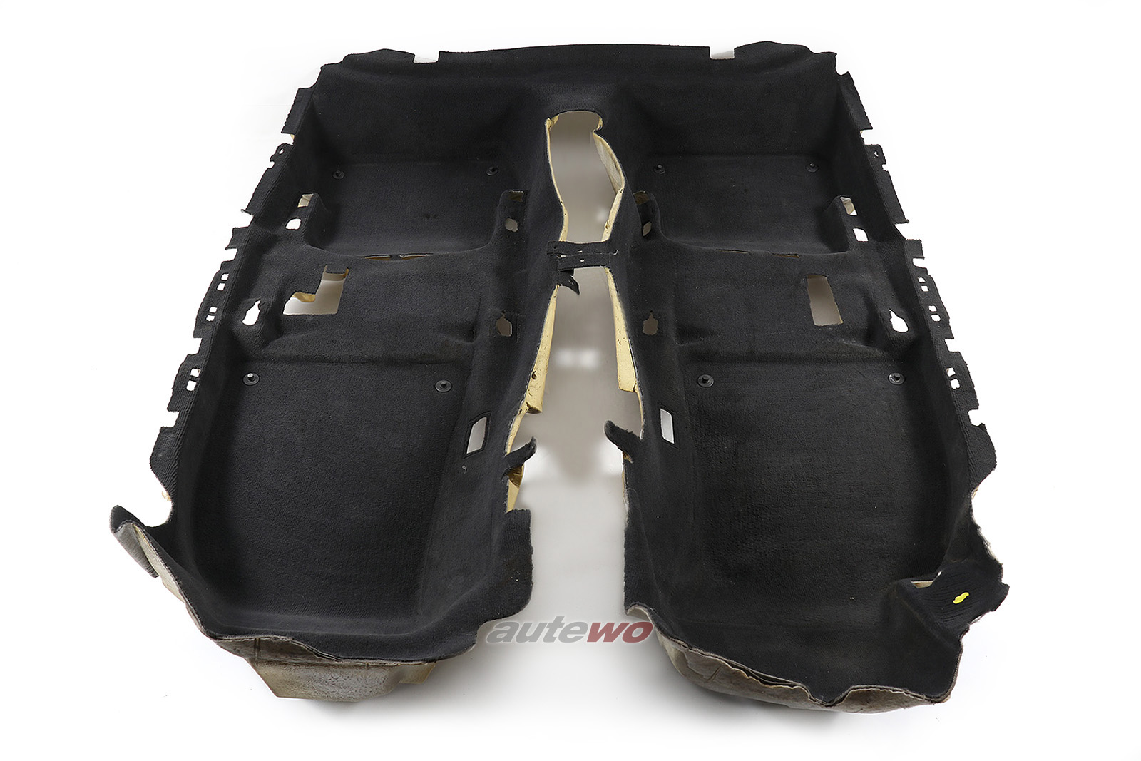 8E1863021 8E1863021L Audi A4/S4/RS4 8E/B6/B7 Innenraum Teppich schwarz