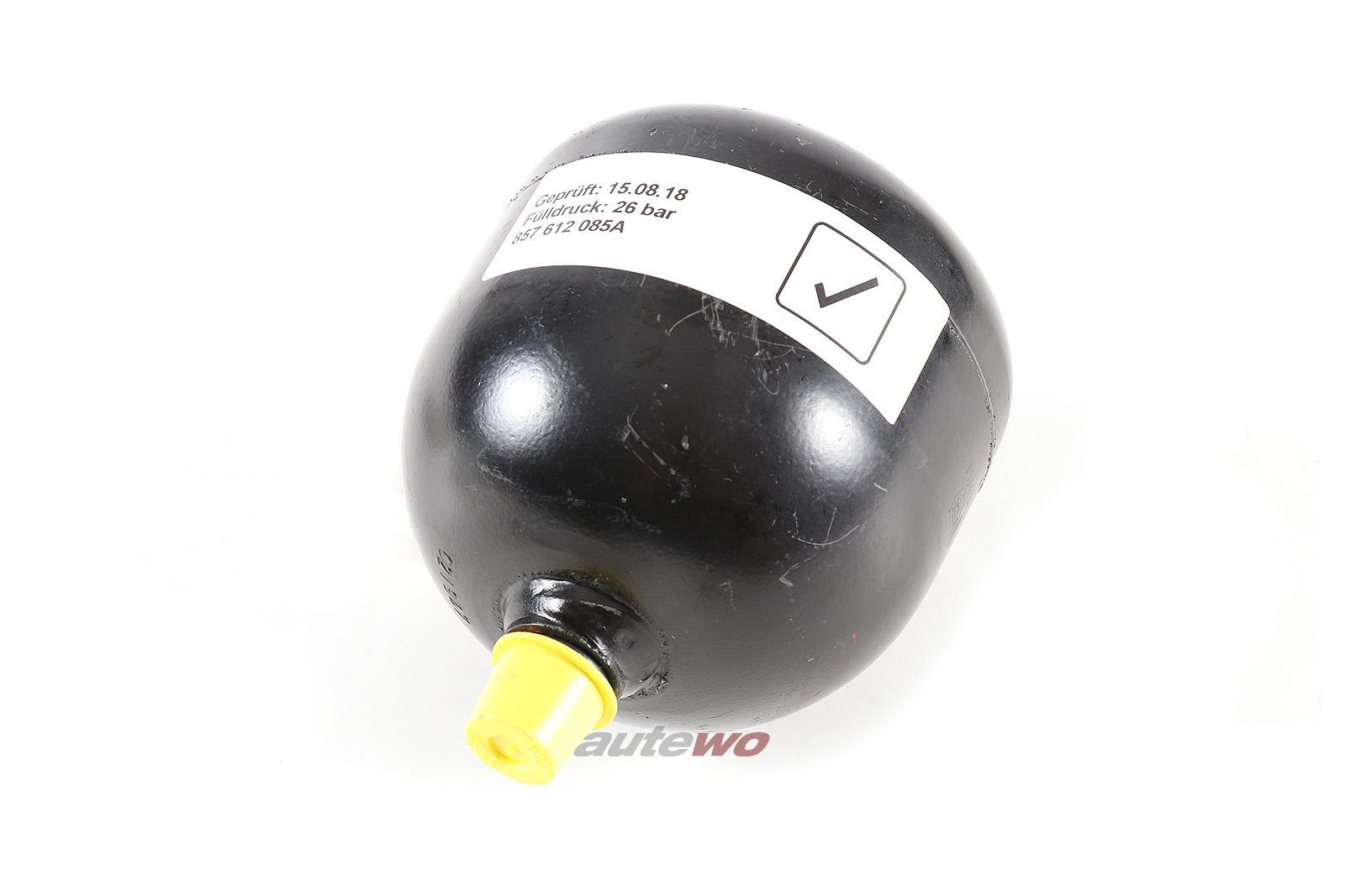 857612085A Audi Urquattro Druckspeicher Bremsanlage geprüft