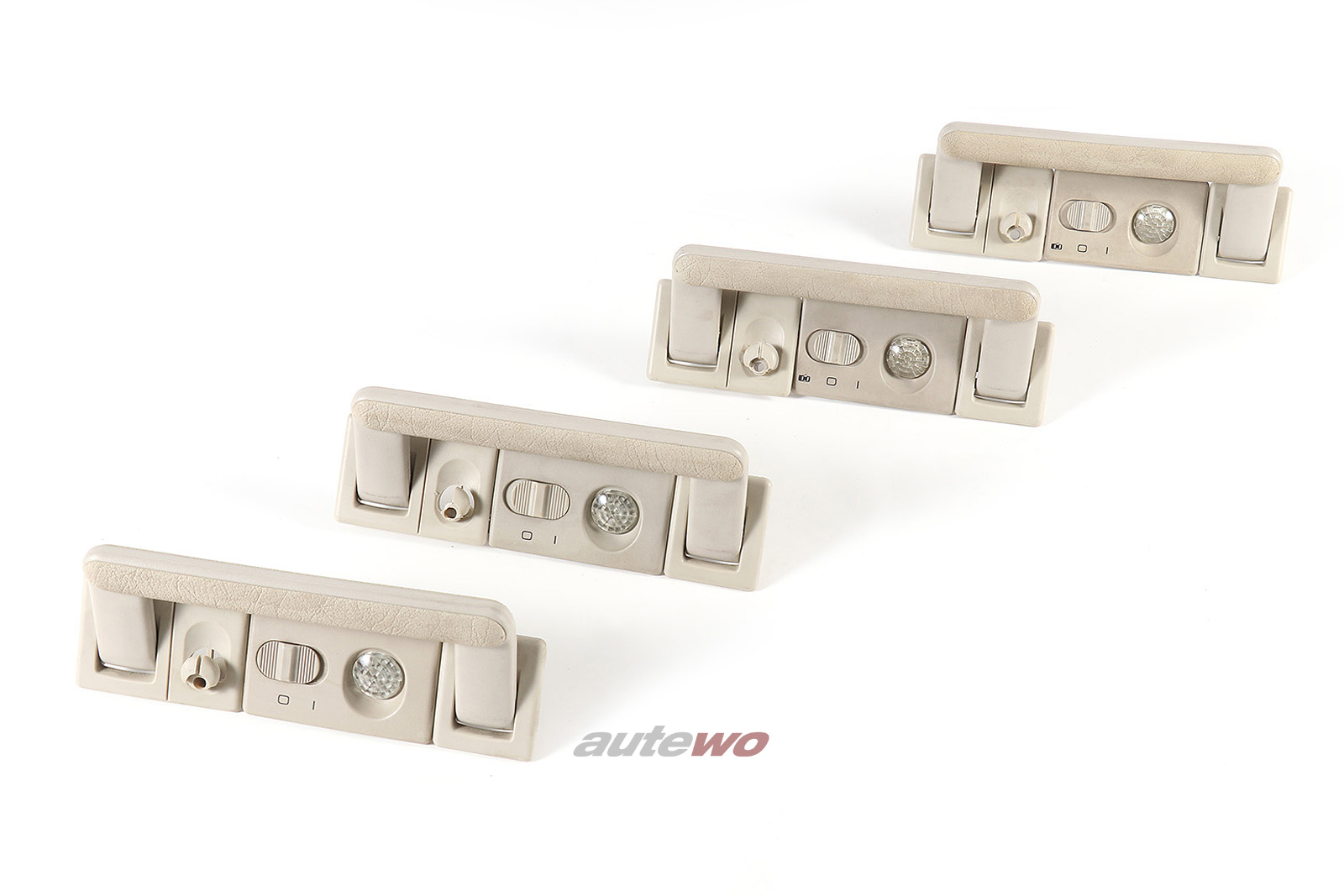 443857607B Audi 80/90 Typ 89/100/200 Typ 44/V8 D11 Haltegriffe Lichtpaket