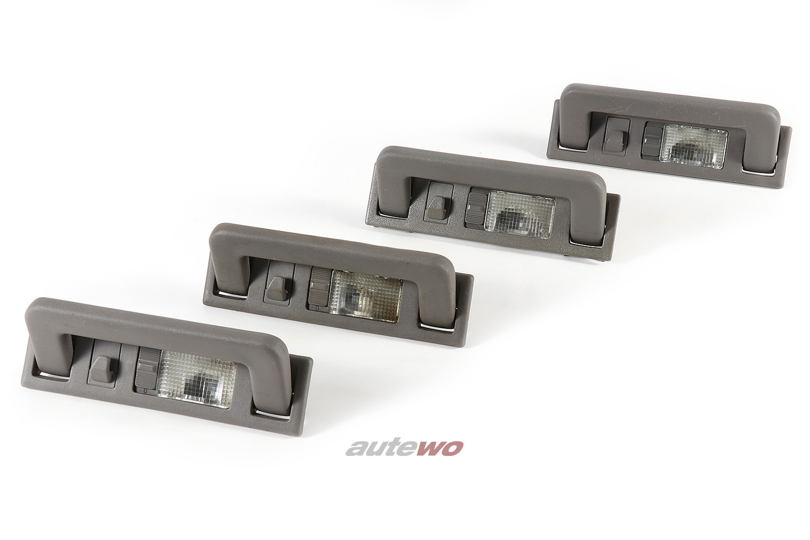 4A0857607B Audi 80 B4/Coupe Typ 89/100/A6 C4/V8 D11 Set Haltegriffe Lichtpaket