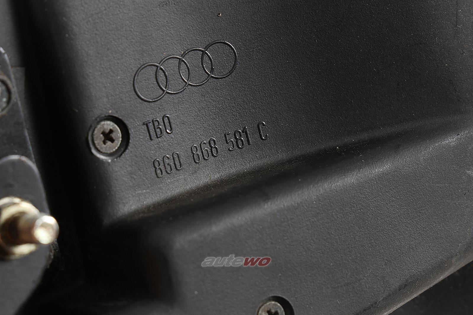 8G0868581C Audi 80 Typ 89 Cabriolet Deckel C-Säule Links anthrazit