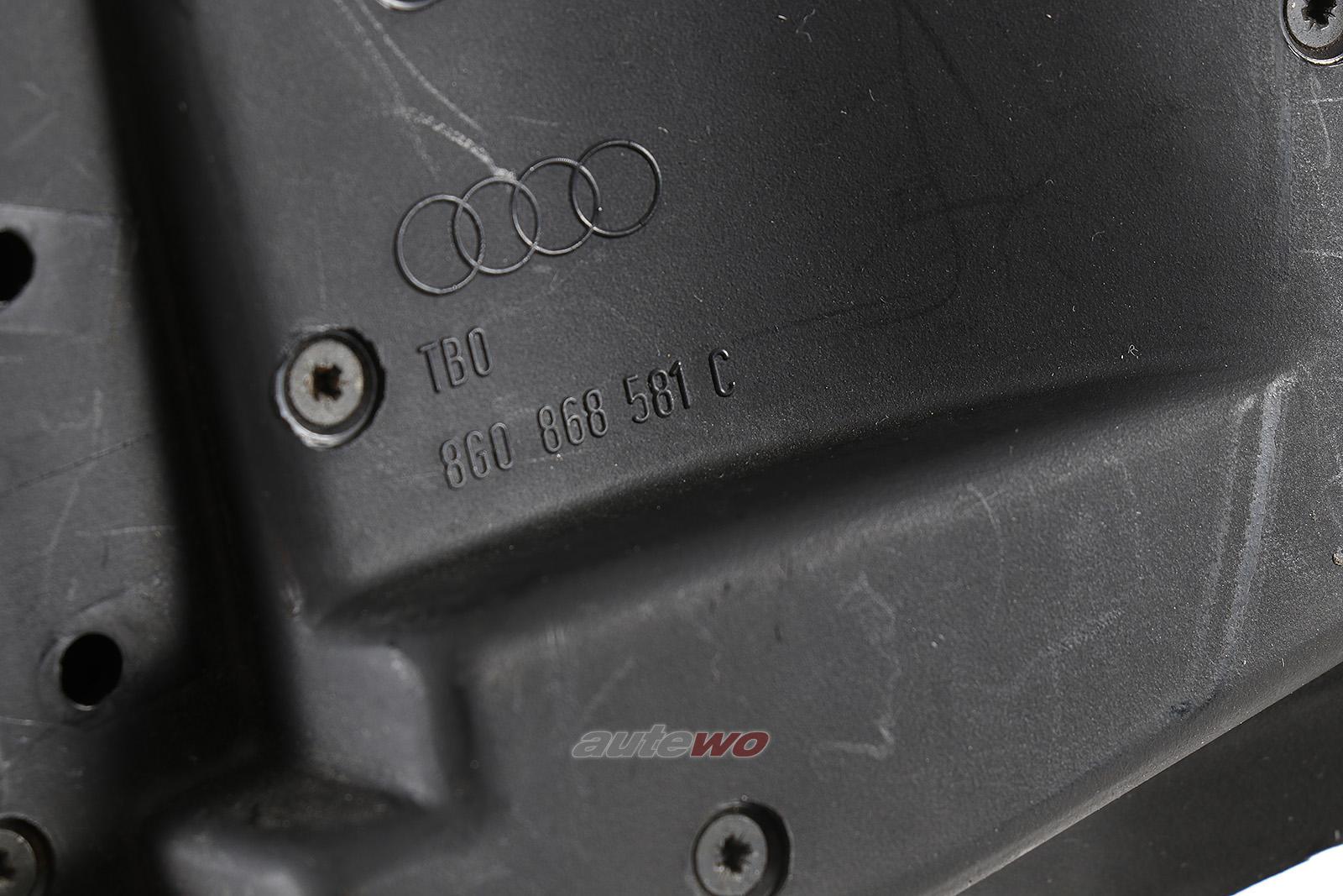 8G0868581C Audi 80 Typ 89 Cabriolet Deckel C-Säule ohne Scharnier Links B-Ware