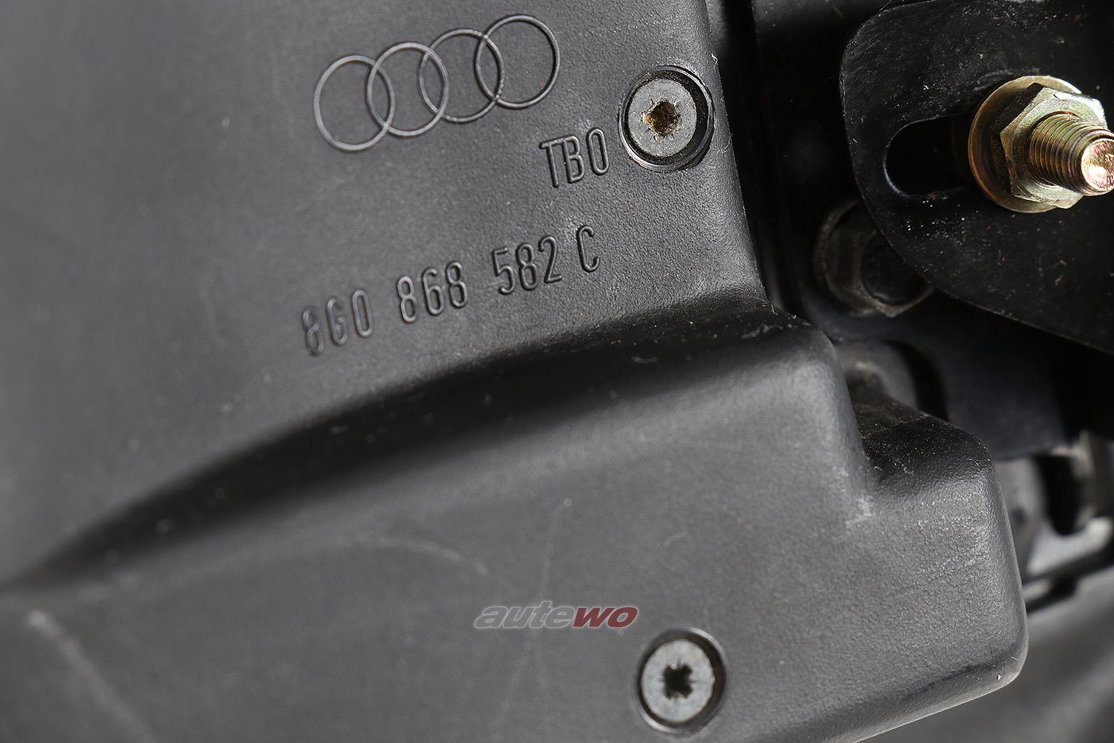 8G0868582C Audi 80 Typ 89 Cabriolet Deckel C-Säule Rechts anthrazit