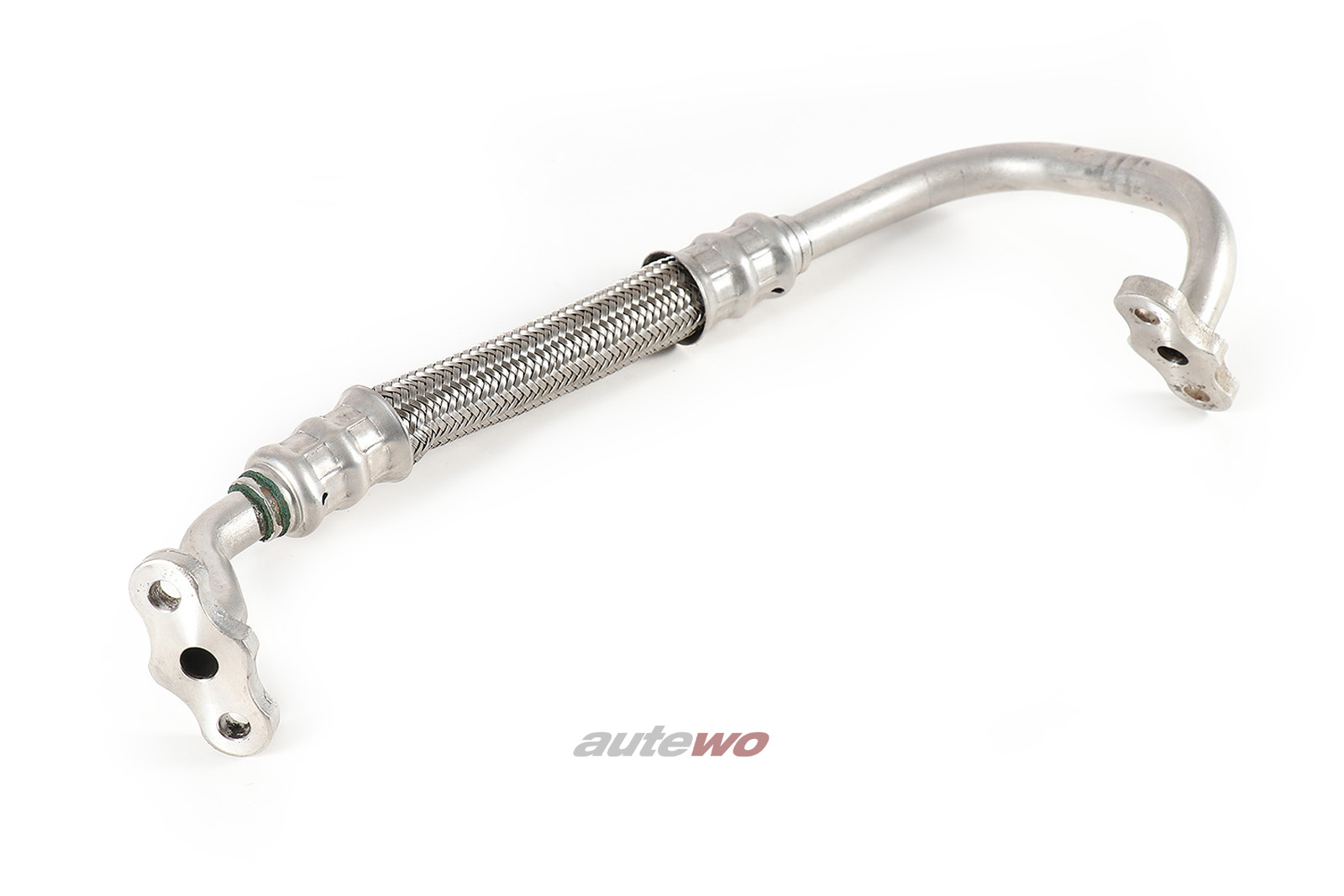 034145771B Audi S2 Coupe/S4/S6 C4 2.2l Turbolader Öl-Vorlaufleitung