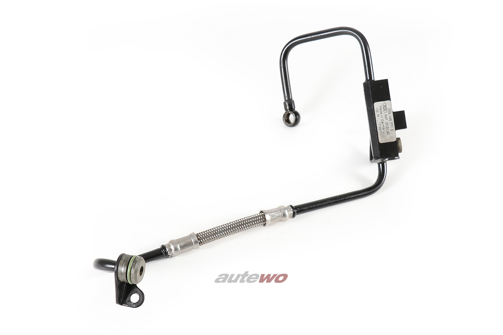 059145771E Audi/VW A4 B5/A6 4B/A8 D2/Passat 2.5l TDI Turbolader Vorlaufleitung