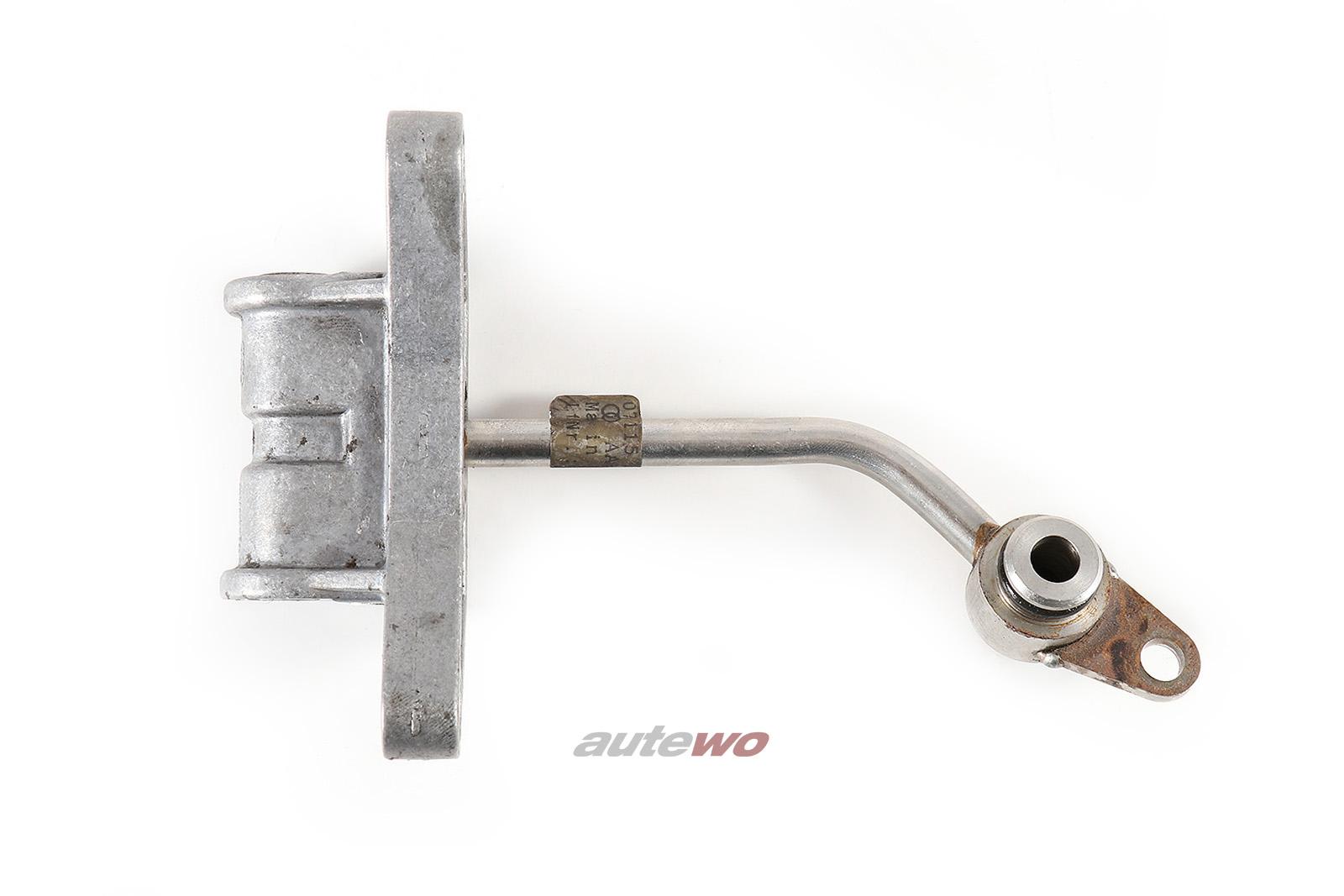 078115377 Audi S4 B5/A6 4B 2.7l Biturbo Öl Verteiler
