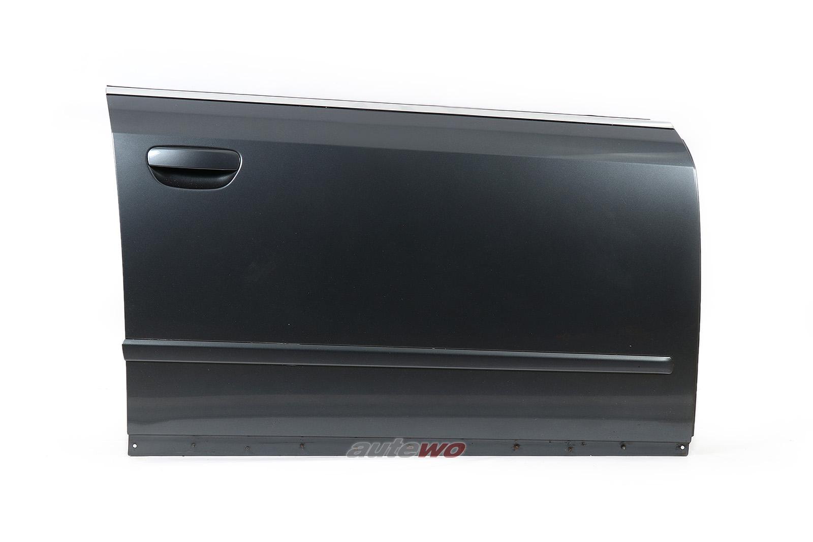 8E0831052 Audi A4/S4 8E/B6 Tür Vorne Rechts LX7Z delphingrau metallic