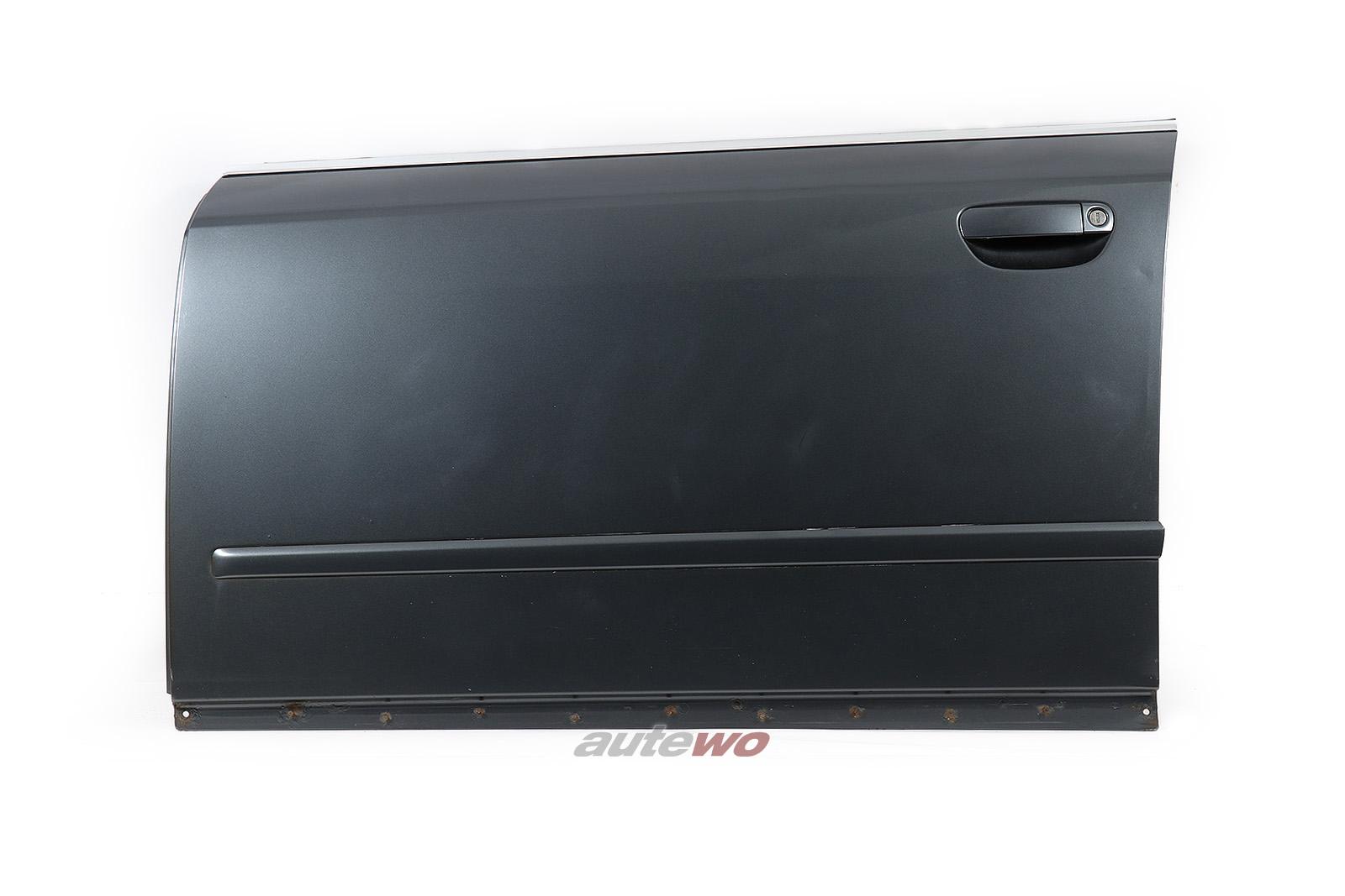 8E0831051 Audi A4/S4 8E/B6 Tür Vorne Links LX7Z delphingrau metallic