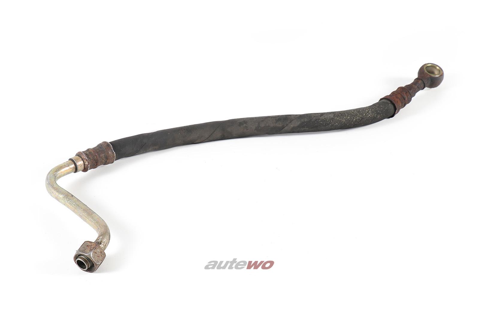035117123B Audi 200 Typ 43 2.2l Motor-Ölkühler Ölrücklaufleitung