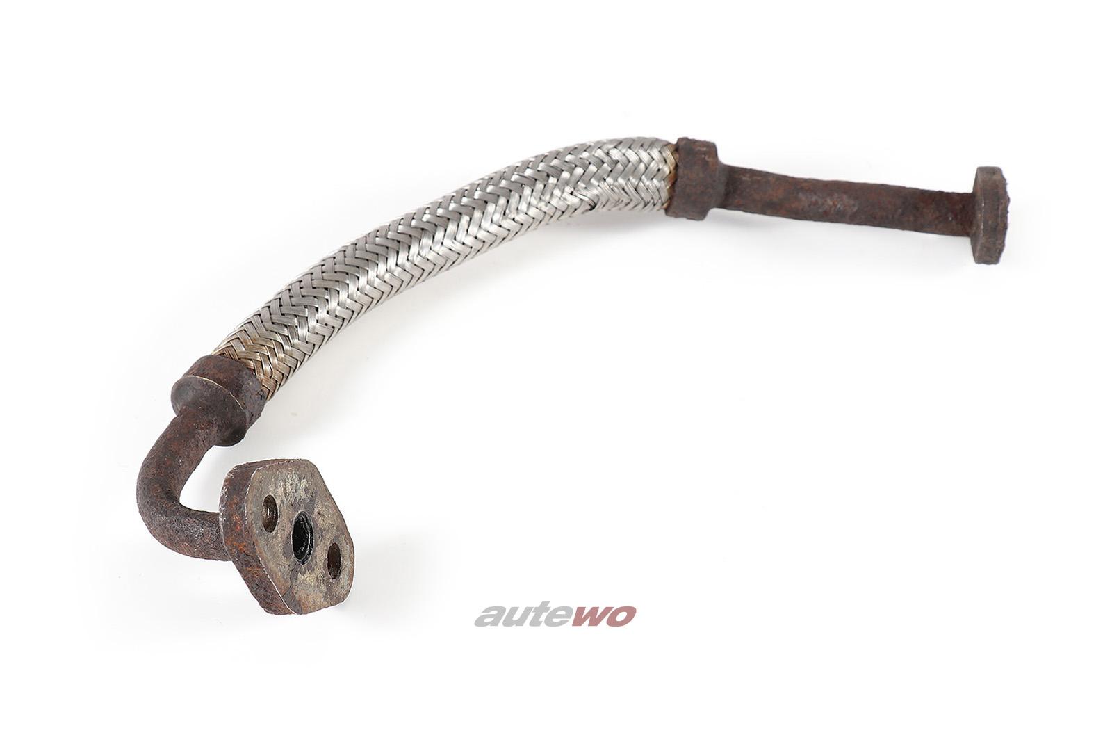 035145771D Audi 200 Typ 44 2.2l Turbolader Öl-Vorlaufleitung