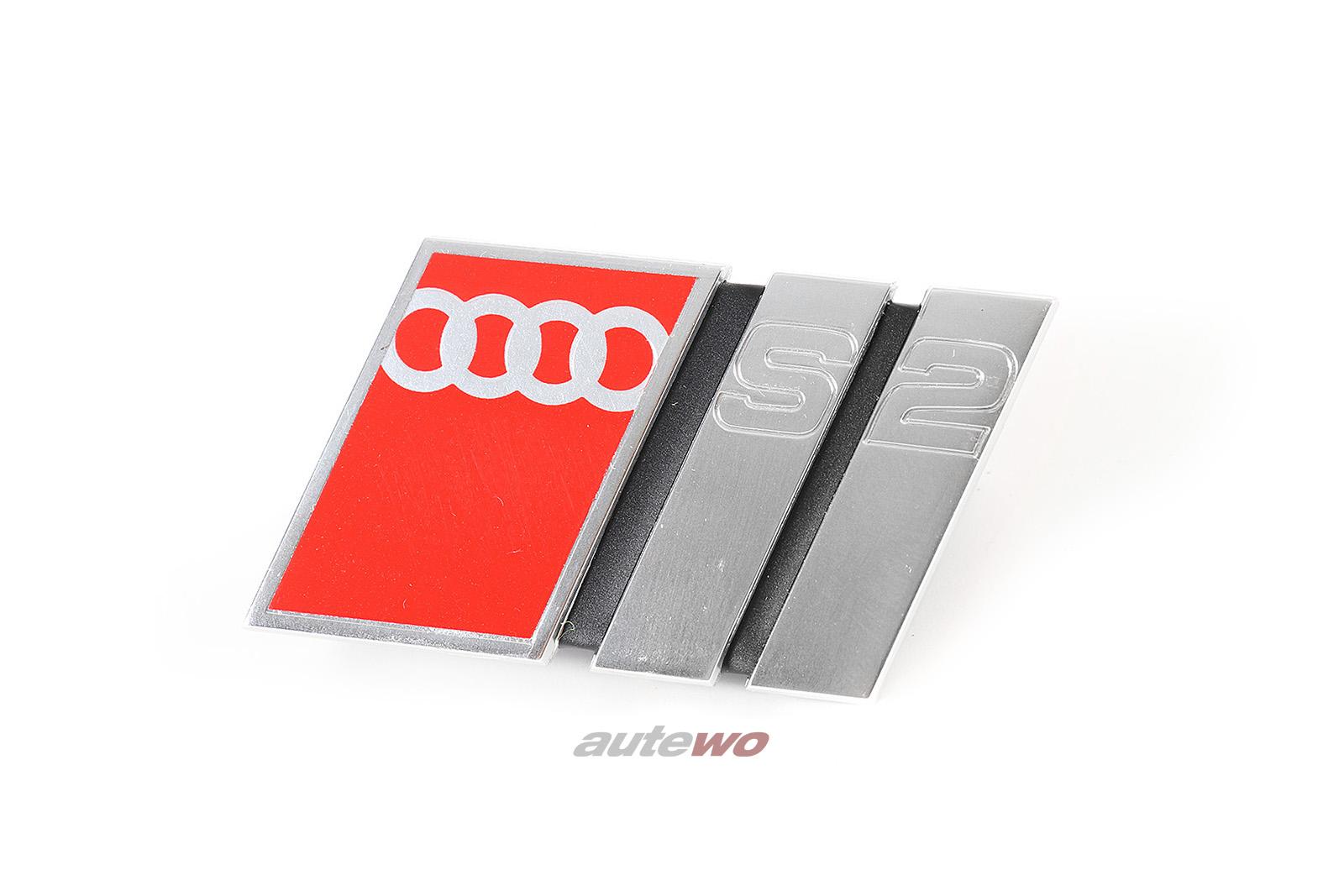 895853736B NEU Audi 80 S2/Coupe Typ 89 Schriftzug Kühlergrill