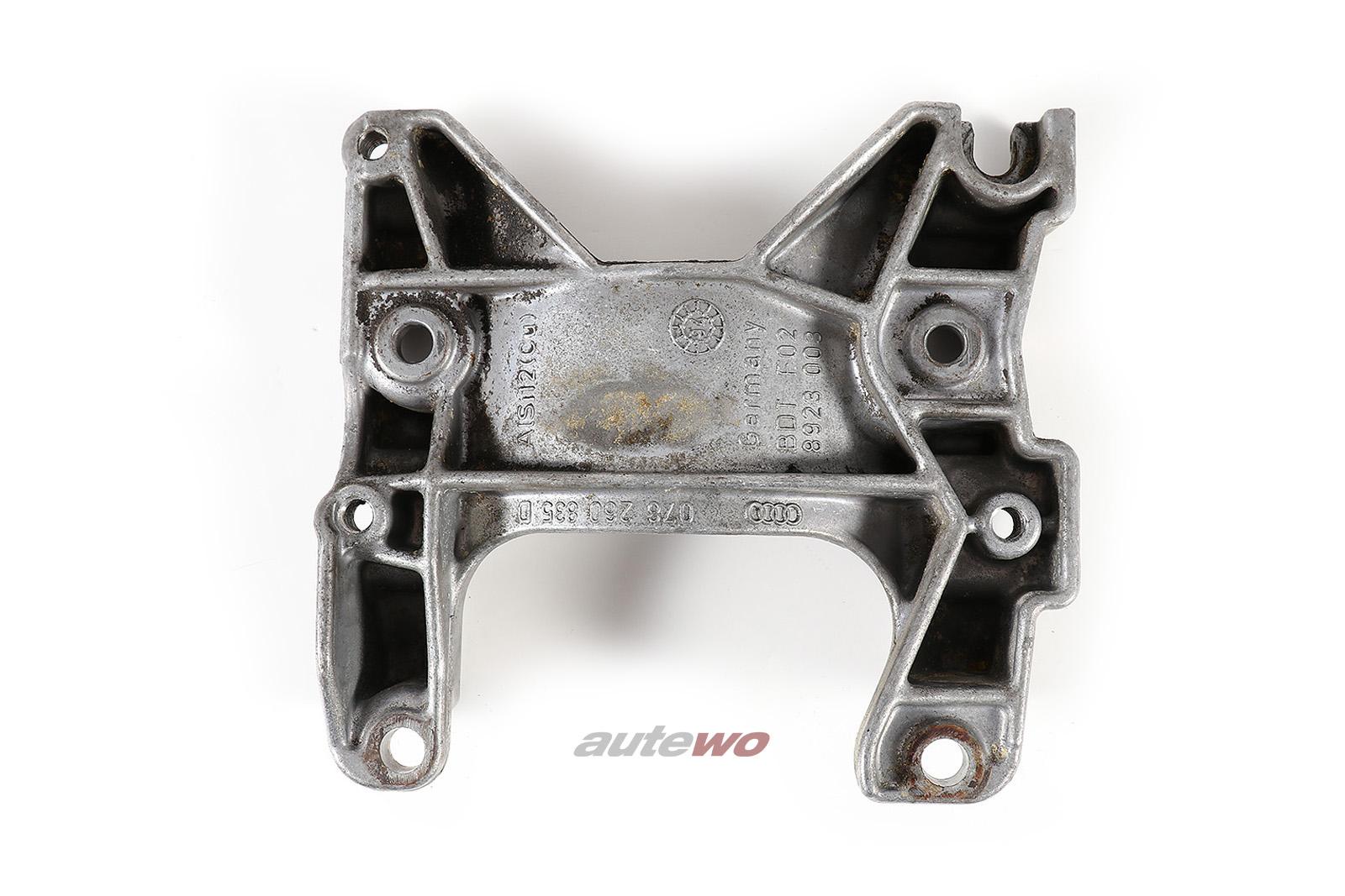 Audi 80/100/A4/A6/A8 2.6-2.8l Halter Klima-Kompressor 078260835D