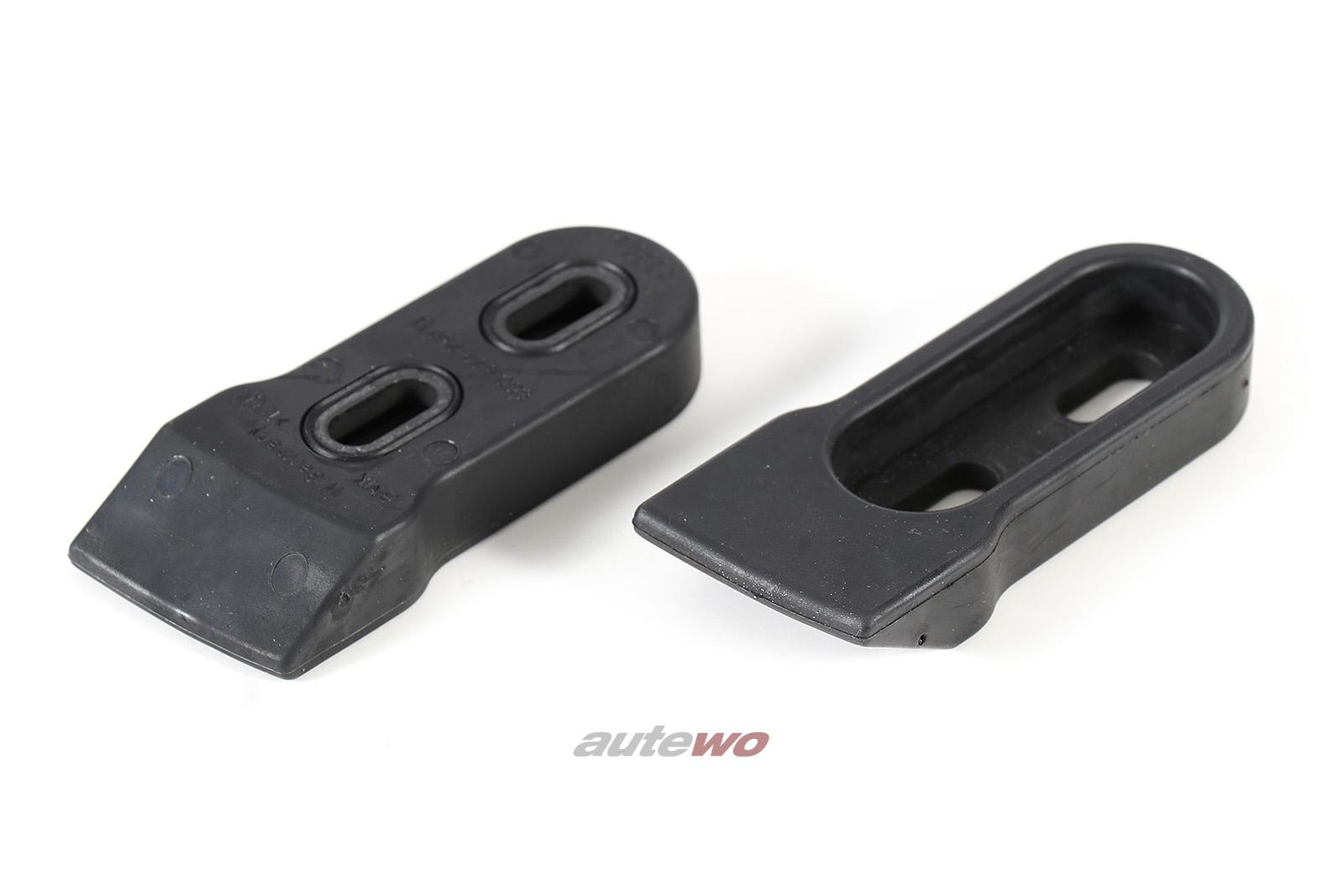 8G0827249D/8G0827250D NEU Audi Cabrio Typ 89 Set Anschlagpuffer Heckklappe