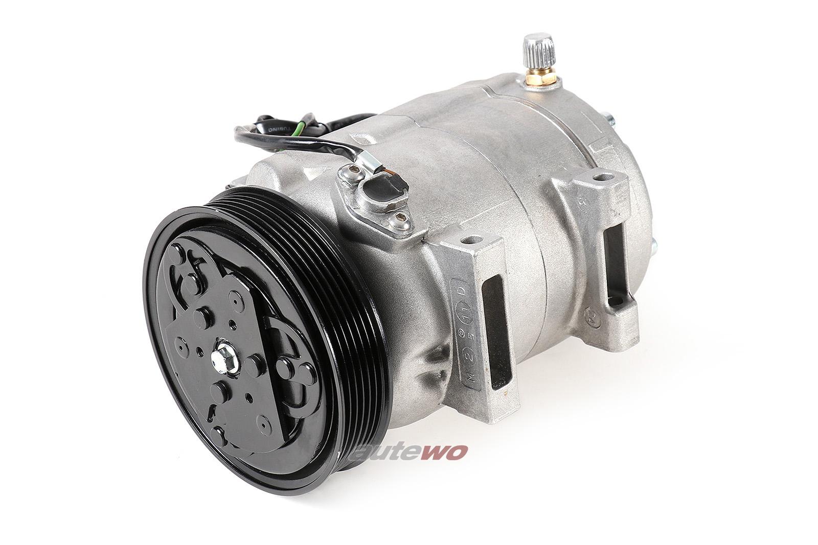 #4A0260805AH Audi 80 B4/Cabrio/100/A6/S4/S6 C4/A8 5/6 Zyl. Klimakompressor