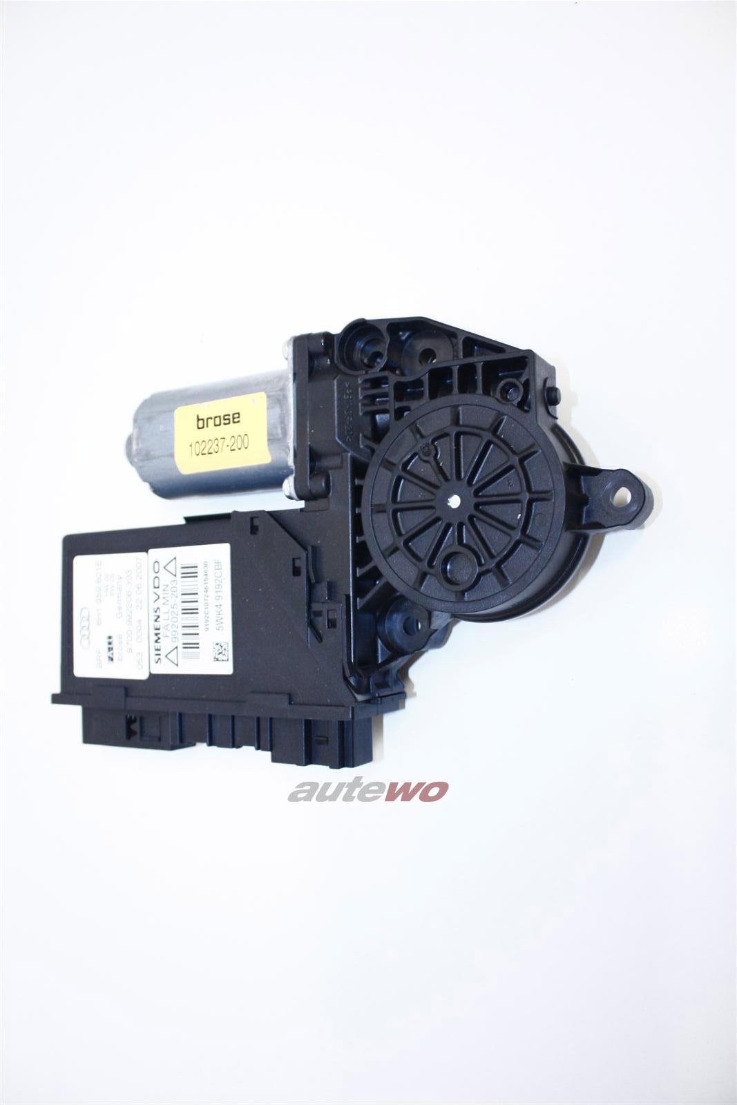 Audi A4 8H Cabrio Fensterheber Motor + Steuergerät 8H1959801D 8H1959801E