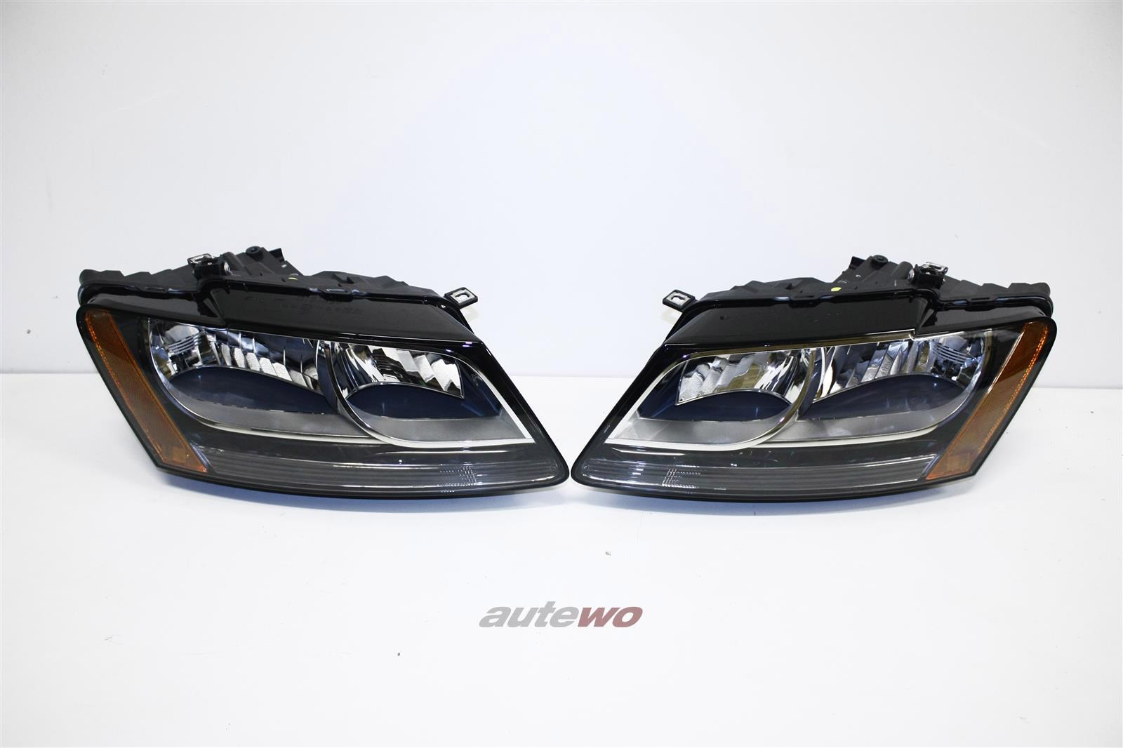 NEU! Audi Q5 Orig. US-Scheinwerfer + Sidemarkers Li. & Re. 8R0941029B & 8R094103
