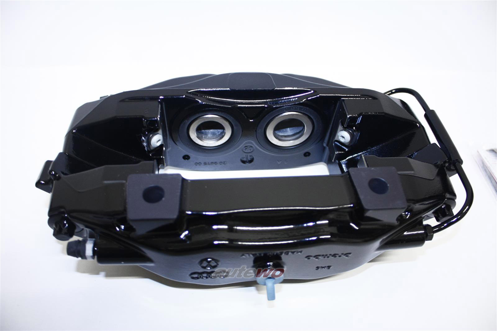 NEU! Audi R8 Orig. Festsattel Bremse 356x32mm Hi. Li. & Re. schwarz 420615407 &