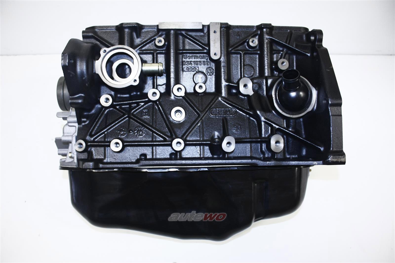 NEU! Audi 90 Typ 81/85/100 Typ 44 2.0l 5 Zyl. Austausch-Motorblock 034100104DX