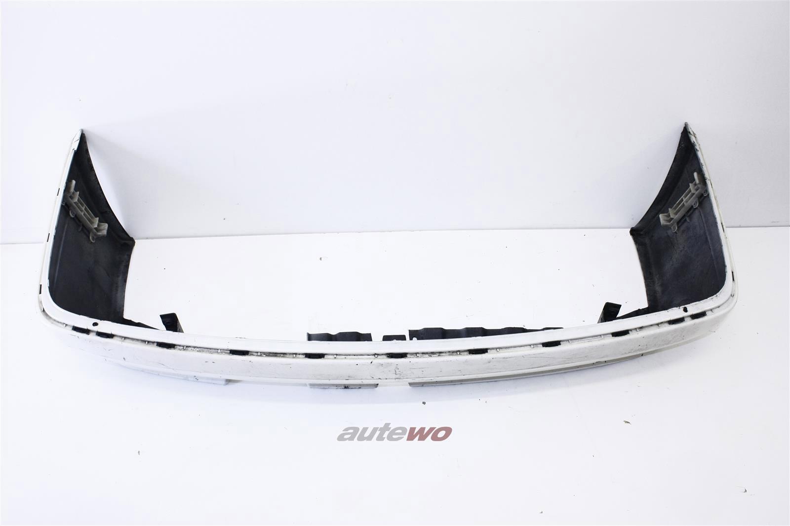 Audi 90 Typ 89 Stoßstange Hinten weiß 893807301F