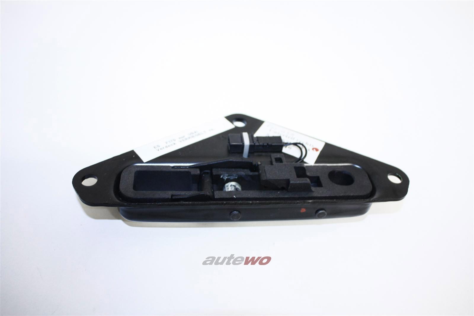 NEU! Audi A4/S4/RS4 Cabrio Verdeckverschluss Unterteil USA Rechts 8H0871398A 8H0871398