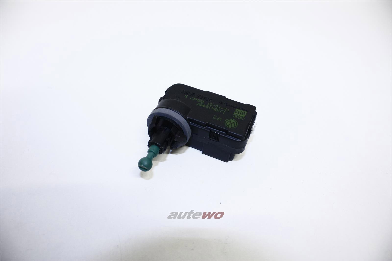 NEU & ORIGINAL! AUDI/VW A2/A4 8E/Q7/Golf/Lupo Stellmotor Leuchtweitenregulierung 1J0941295B 1J0941295F