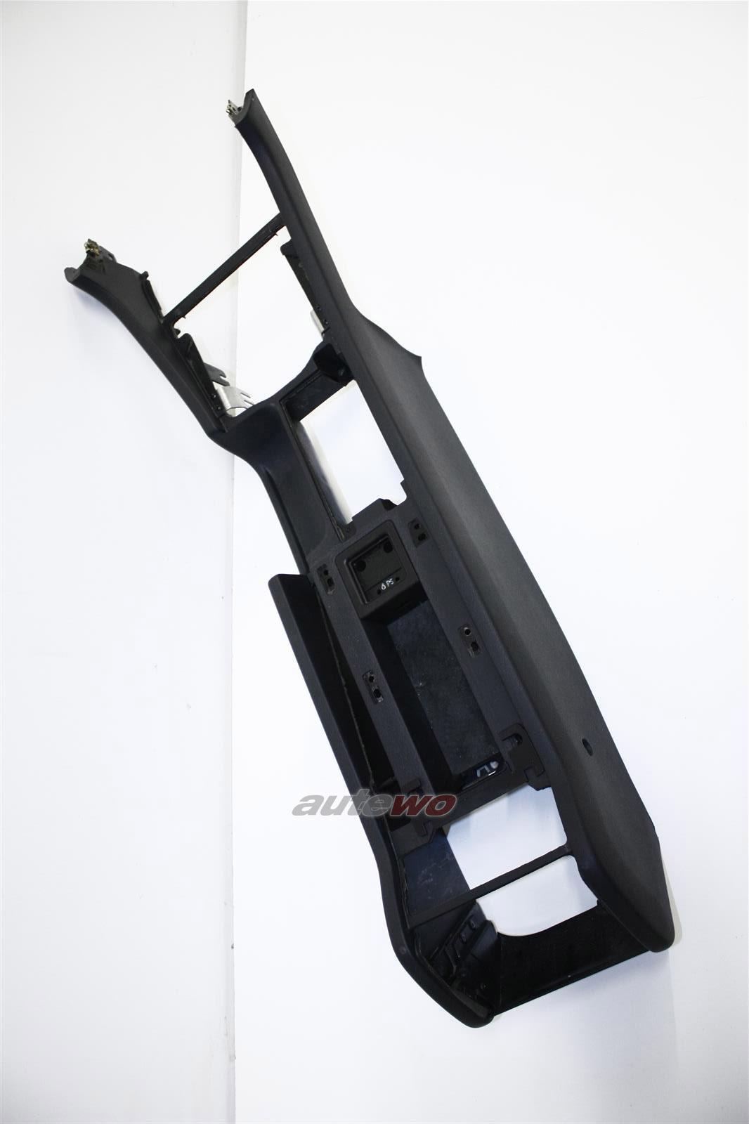 Audi A8/S8 D2 Mittelkonsole 24A Soul schwarz 4D1863241P 4D1863241