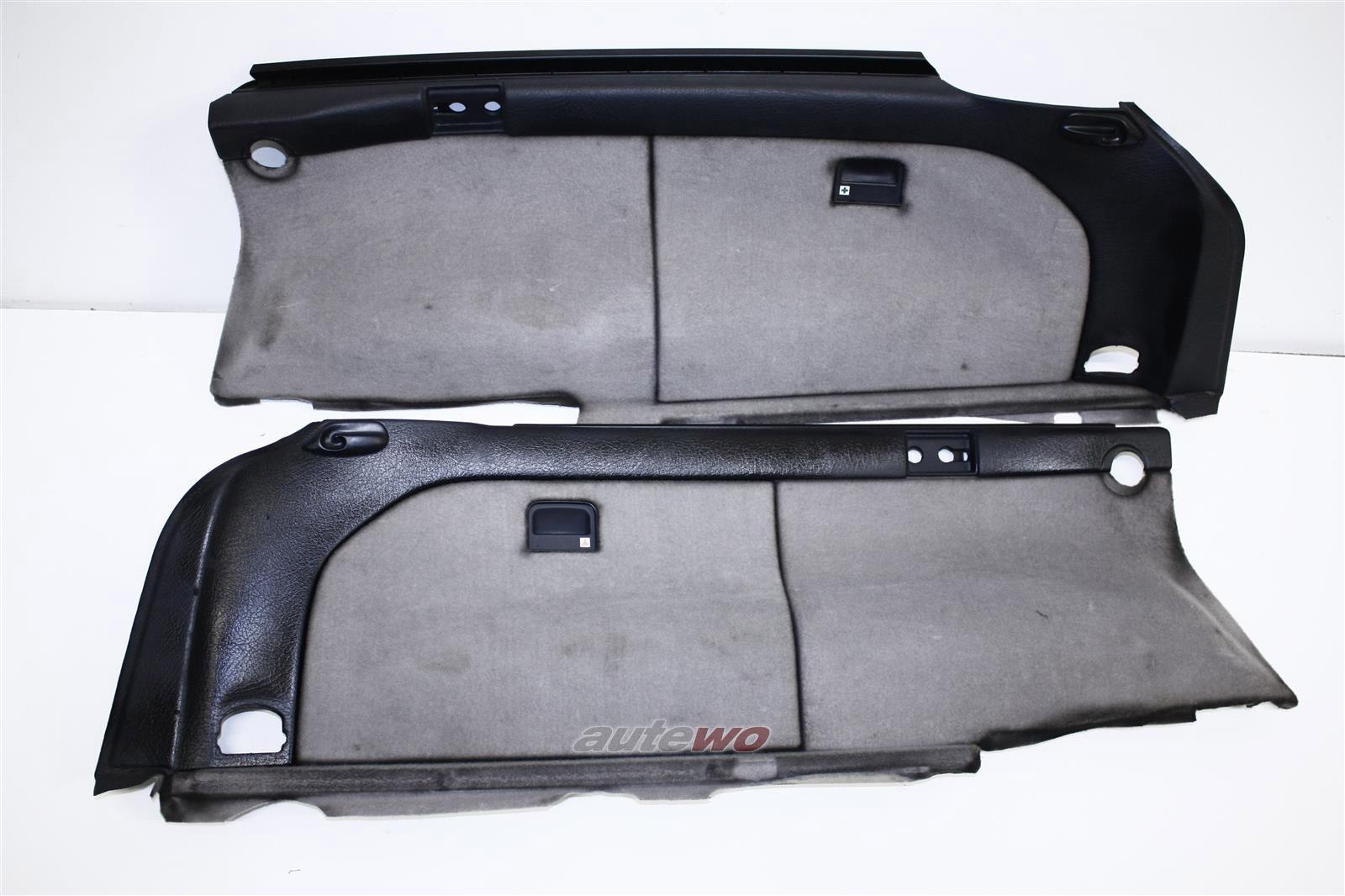 Audi 100/S4/A6/S6 C4 Avant Kofferraumverkleidungen Li. & Re. platin 4A9863879 &