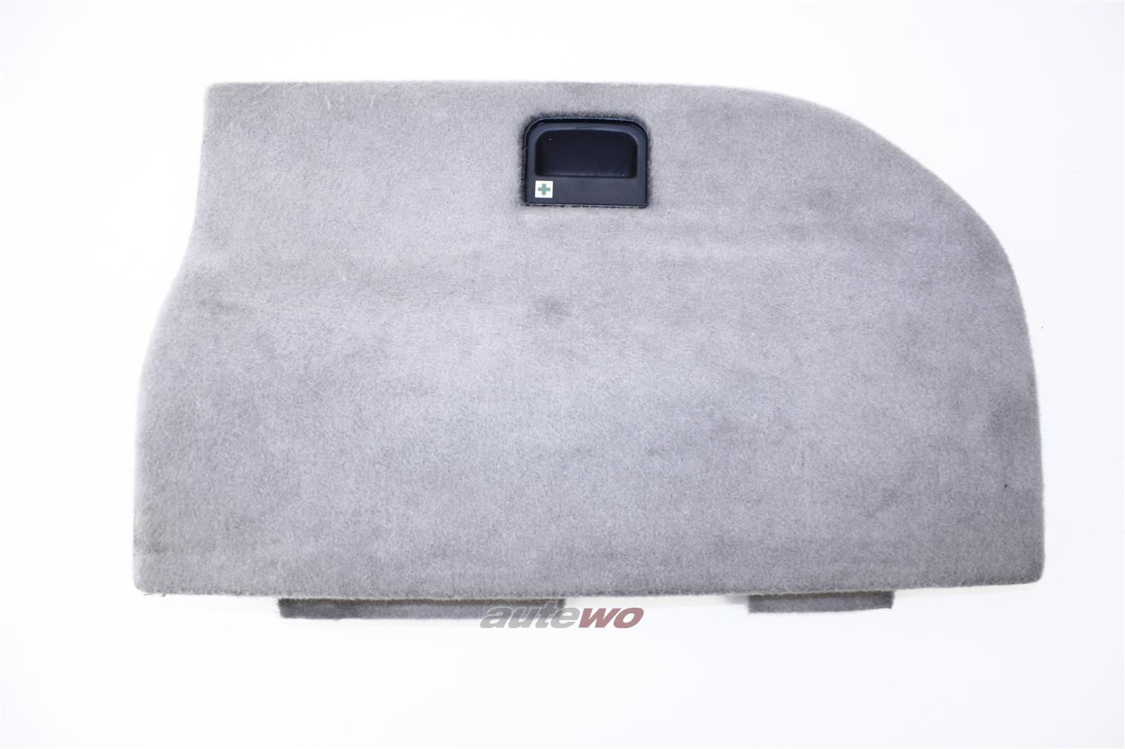 Audi 100/S4/A6/S6 C4 Avant Deckel Kofferraumverkleidung Rechts platin 4A9863716