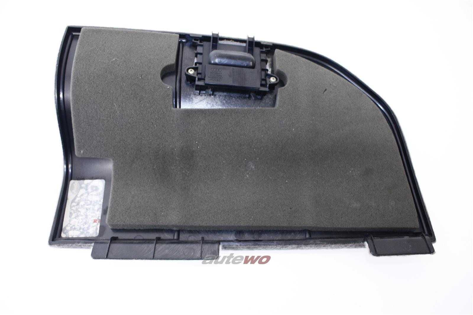 Audi 100/S4/A6/S6 C4 Avant Deckel Kofferraumverkleidung Links platin 4A9863715