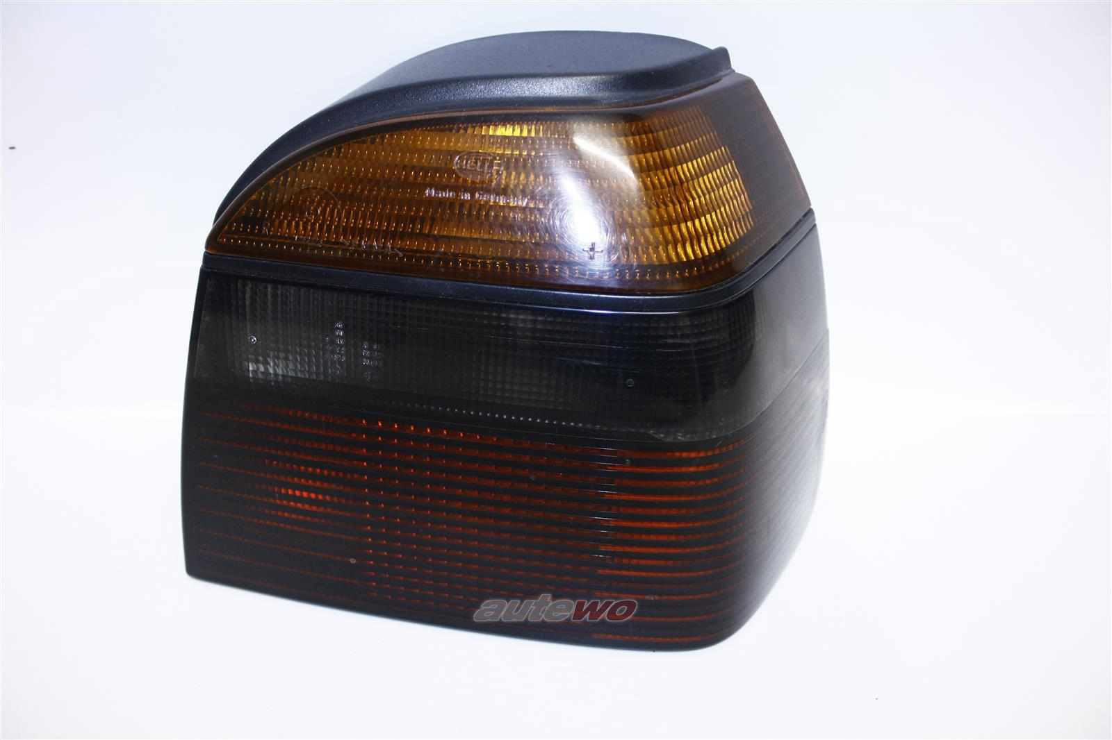 vw golf 3 r cklicht blinker rechts schwarz 1h6945112b ebay. Black Bedroom Furniture Sets. Home Design Ideas