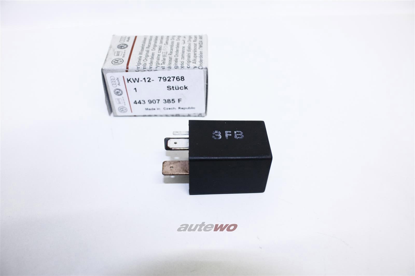 NEU! Audi 90/100 Typ 44 5 Zylinder Kraftstoffpumpenrelais 443907385F
