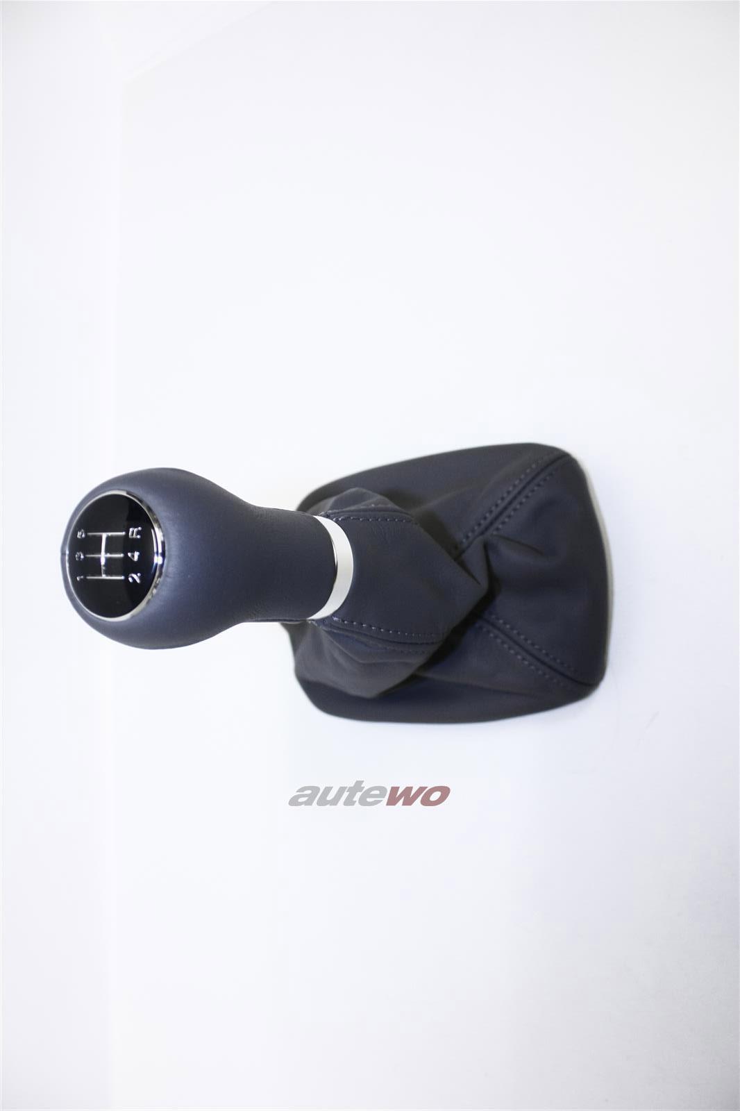 NEU! Audi A6/S6 4B Schalthebel Knopf Leder dunkelgrau 4B0863278CQ 4B0863278M
