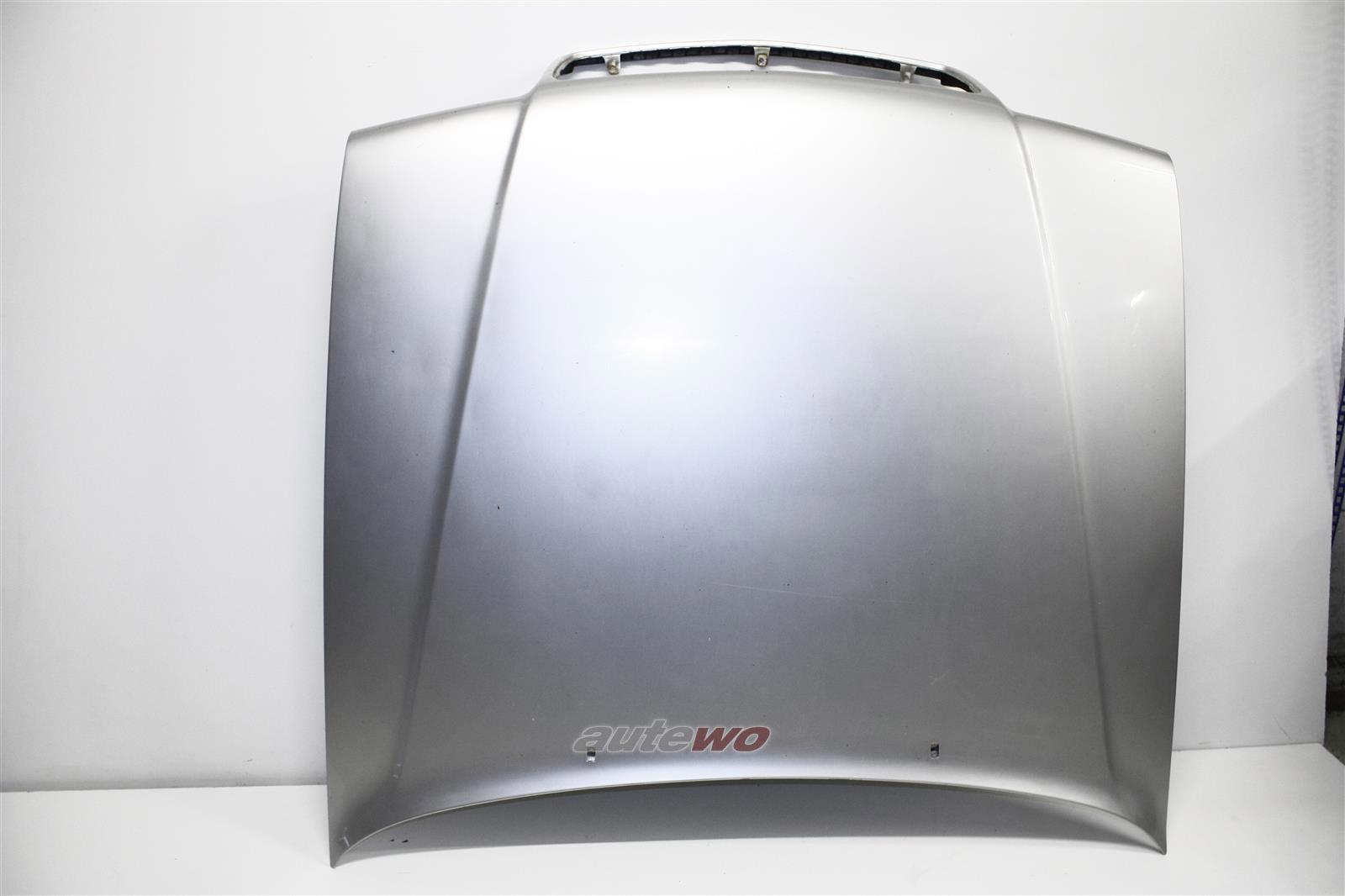 Audi V8 D11 Motorhaube LY7T Kristallsilber 441823019
