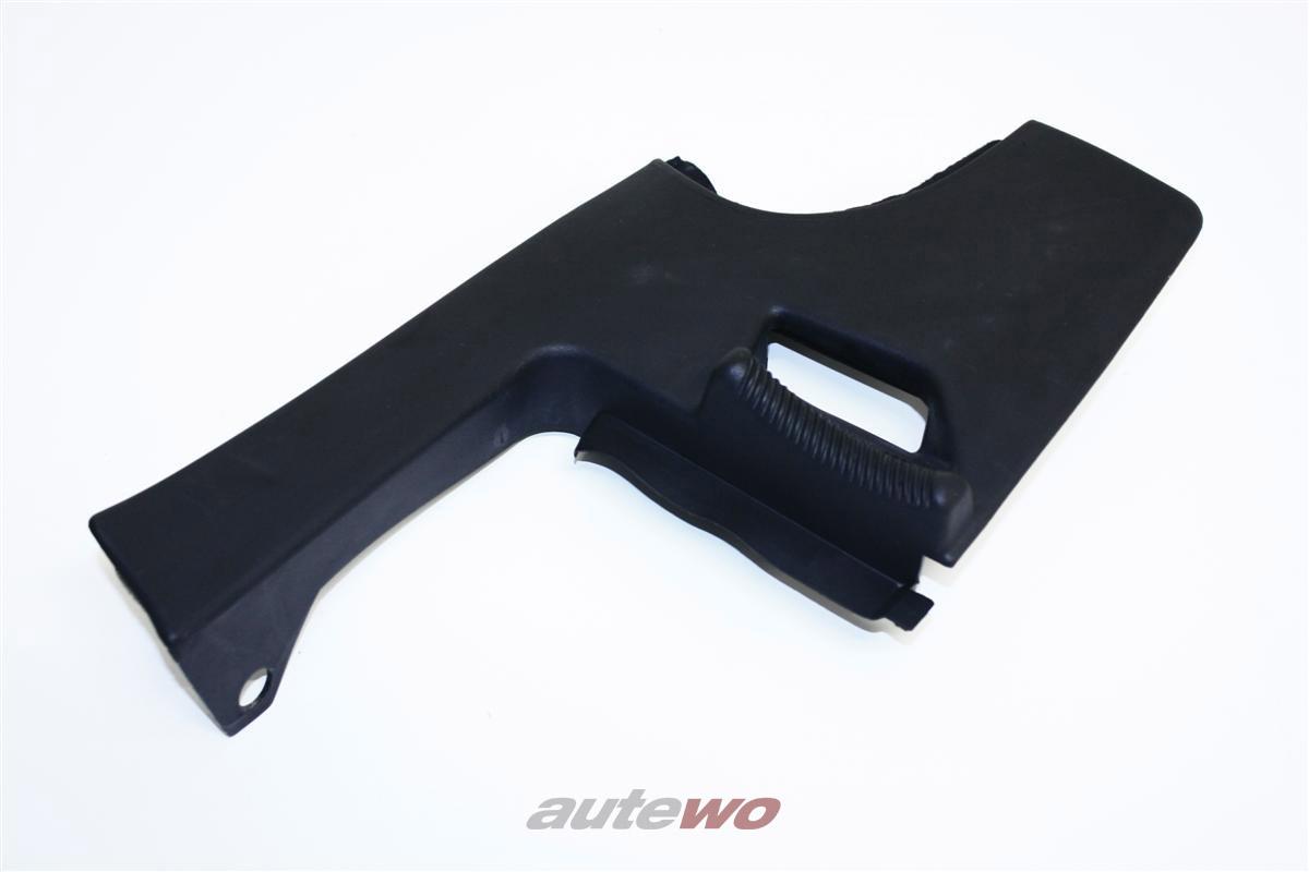 Audi 100/200 Typ 44 Verkleidung Gurtführung Hinten Rechts schwarz 447857954A