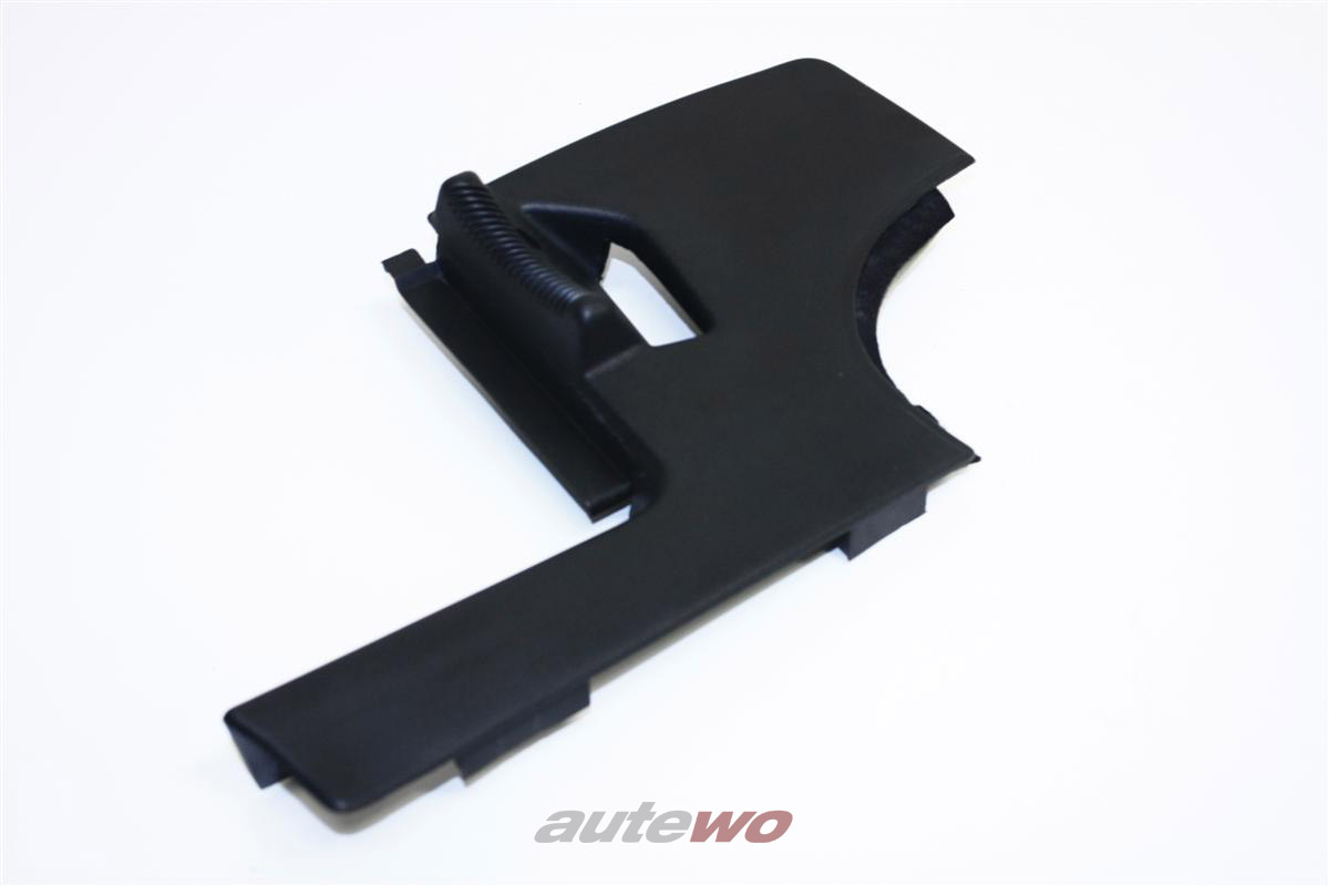 Audi 100/200 Typ 44 Verkleidung Gurtführung Hinten Links schwarz 447857953A
