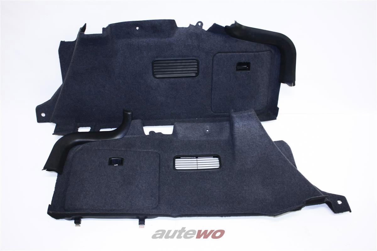 Audi A6 4B Limousine Verkleidung Kofferraum anthrazit 4B5863887K & 4B5863888C