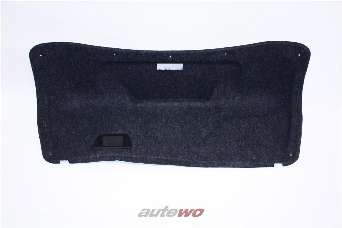 Audi A4/S4/B5 Limousine Verkleidung Heckklappe anthrazit 8D5867975B