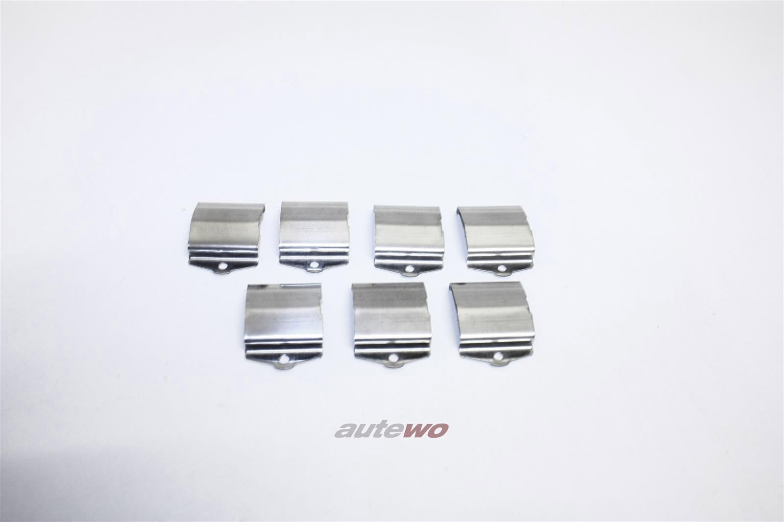 NEU&ORIGINAL Audi 90 Typ 81/85/Urquattro Set Haltefedern Streuscheibe  855941125