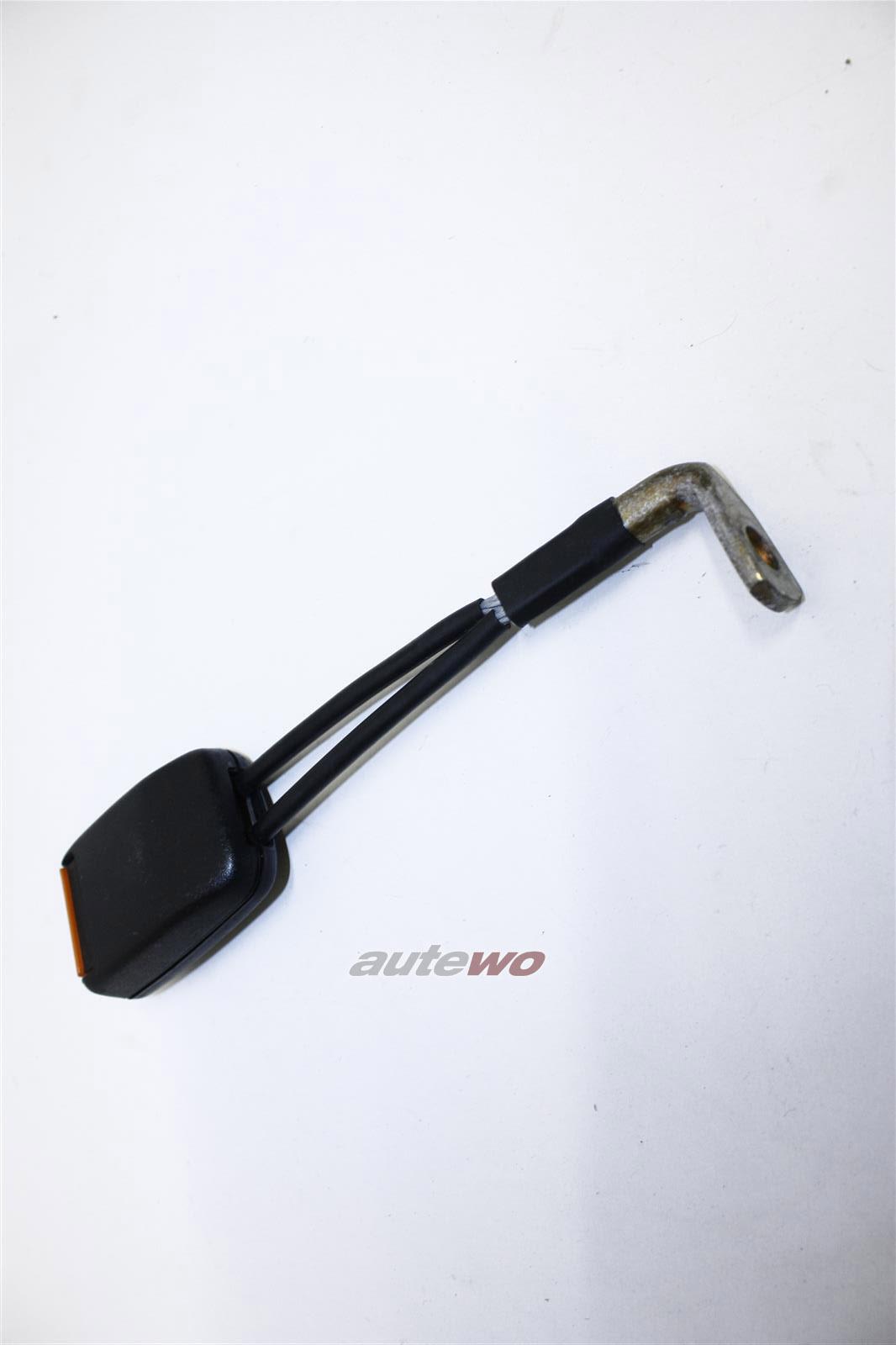 Audi 100/200 Typ 44/V8 D11 Gurtschloss Sicherheitsgurt Hinten 443857739D