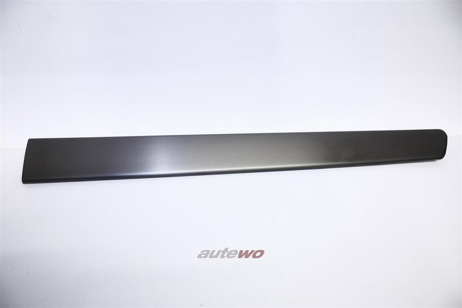 Audi A6 4B Zierleiste Aluminium Hinten Rechts 3VQ titansilber 4B0867420