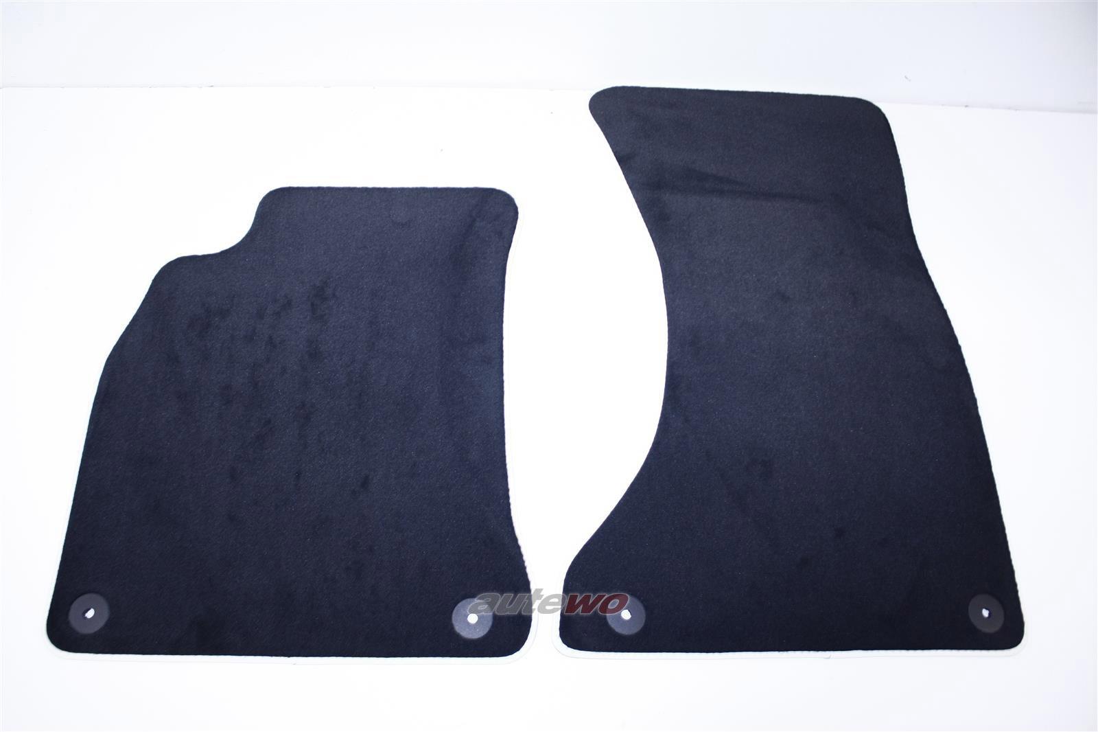 NEU&ORIGINAL! Audi A4 8K/A5 Cabrio  Satz Original Fussmattenvorne  schwarz 8K186